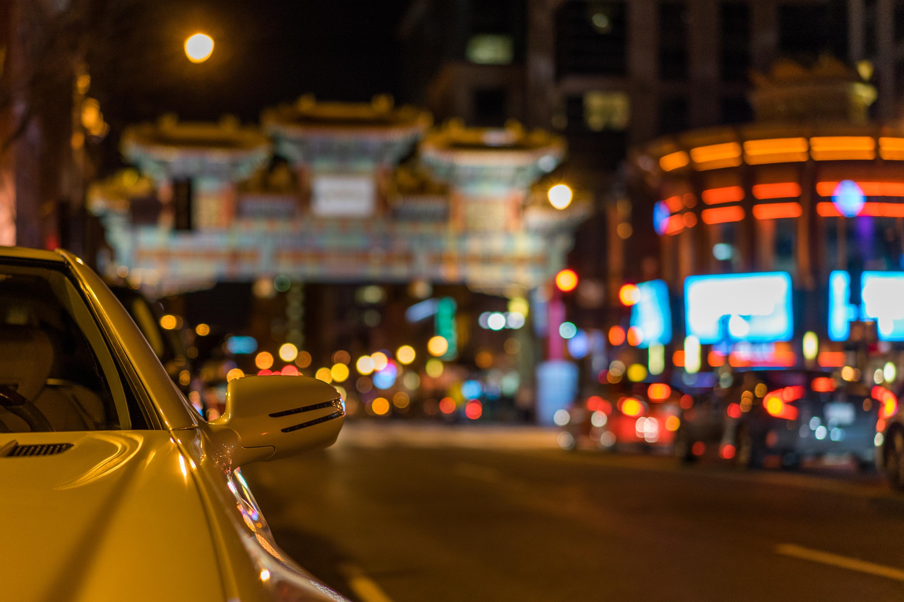 Wallpaper : lights, city, street, cityscape, night, car