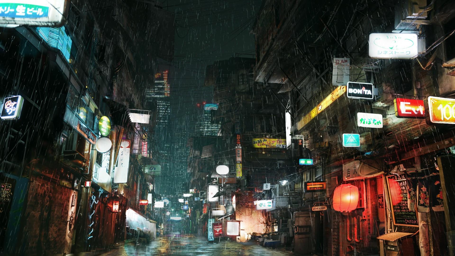 Wallpaper : lights, city, street, cityscape, night ...