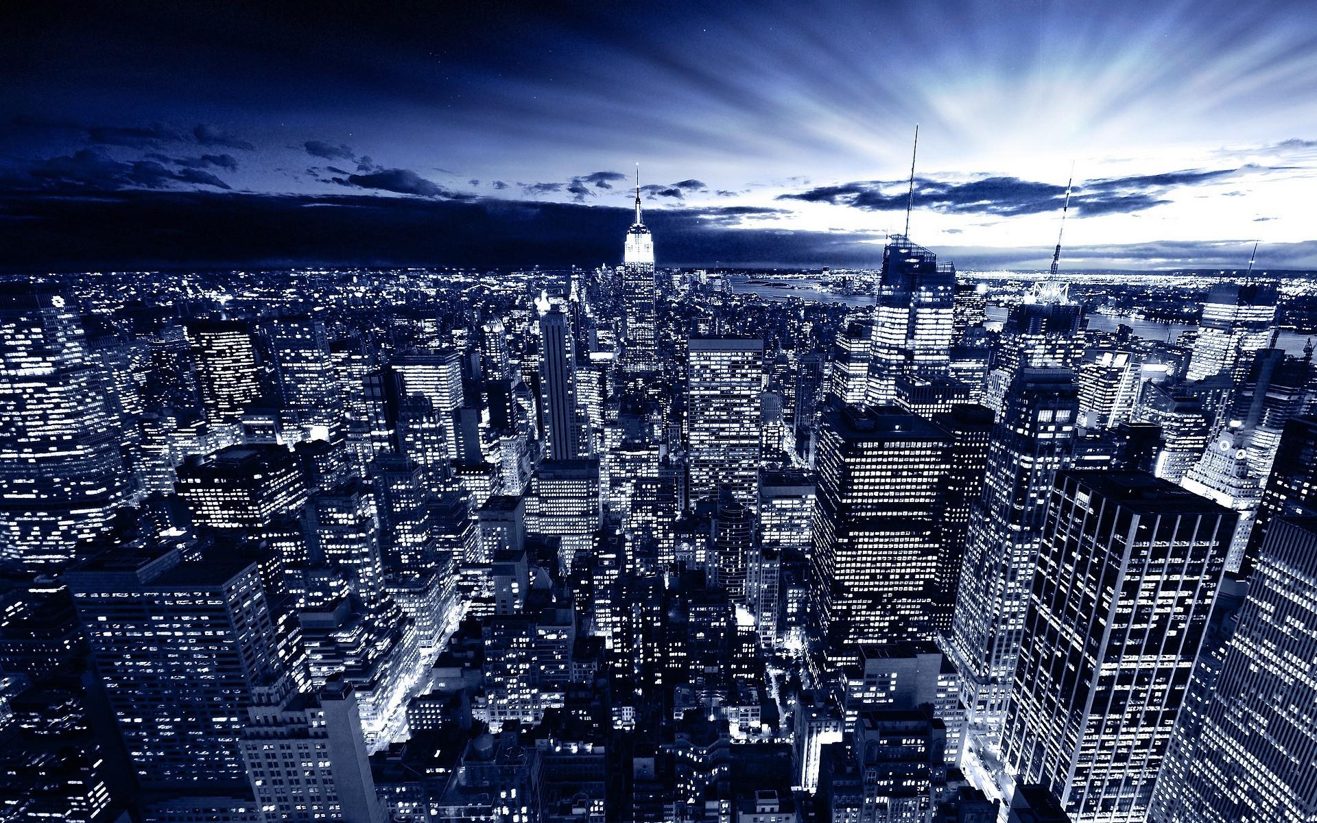 New York Digital Photo Wallpaper