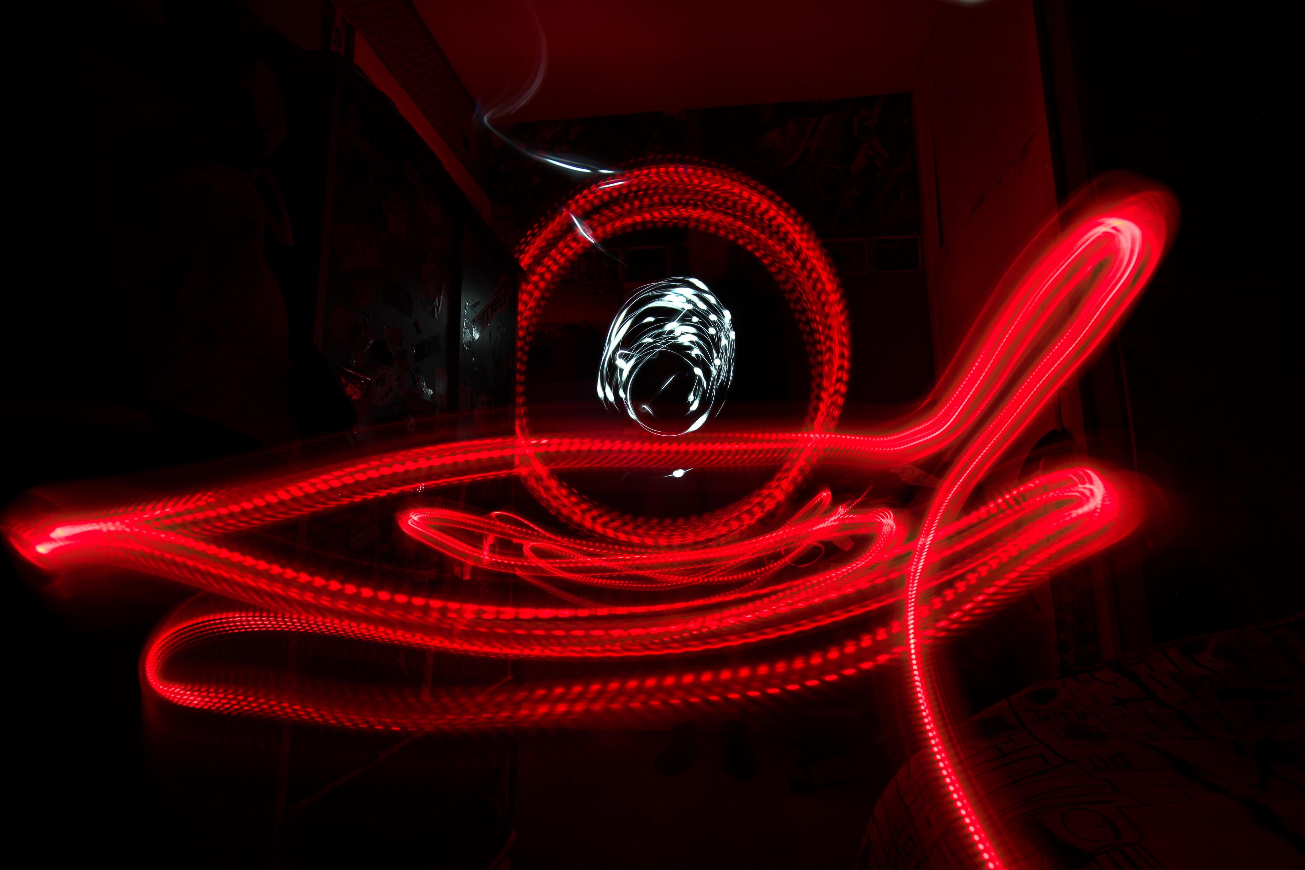 Baggrunde : lys, illustration, mørk, nat, neon, natur, rød ...