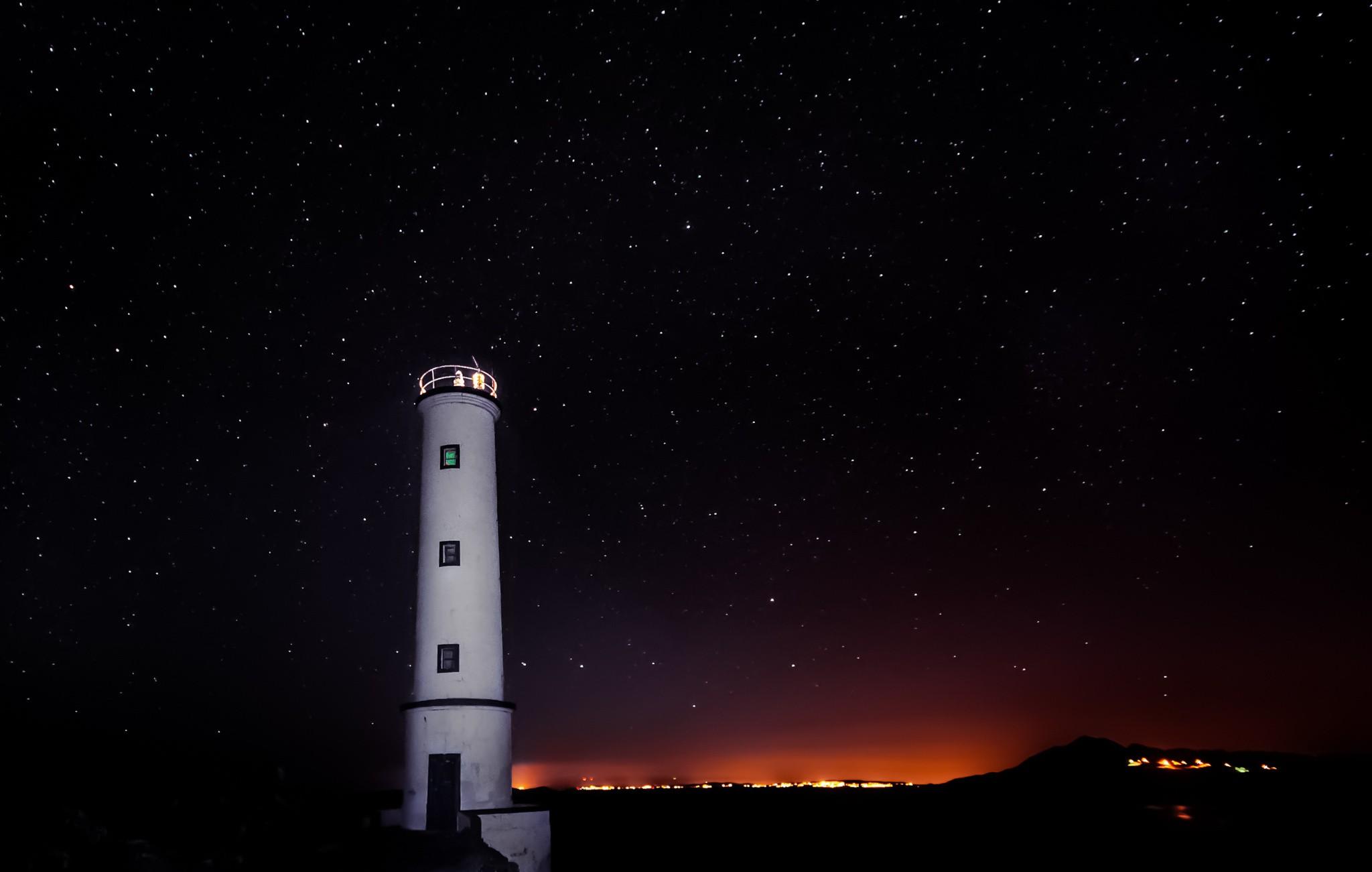 маяк ночью красивые картинки моей родной самой