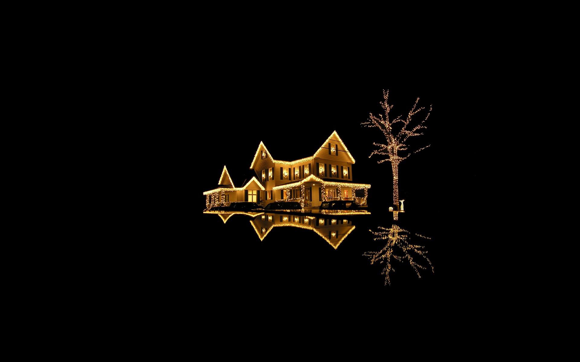 Hintergrundbilder : Beleuchtung, Nacht-, Haus, Weihnachten, Urlaub ...