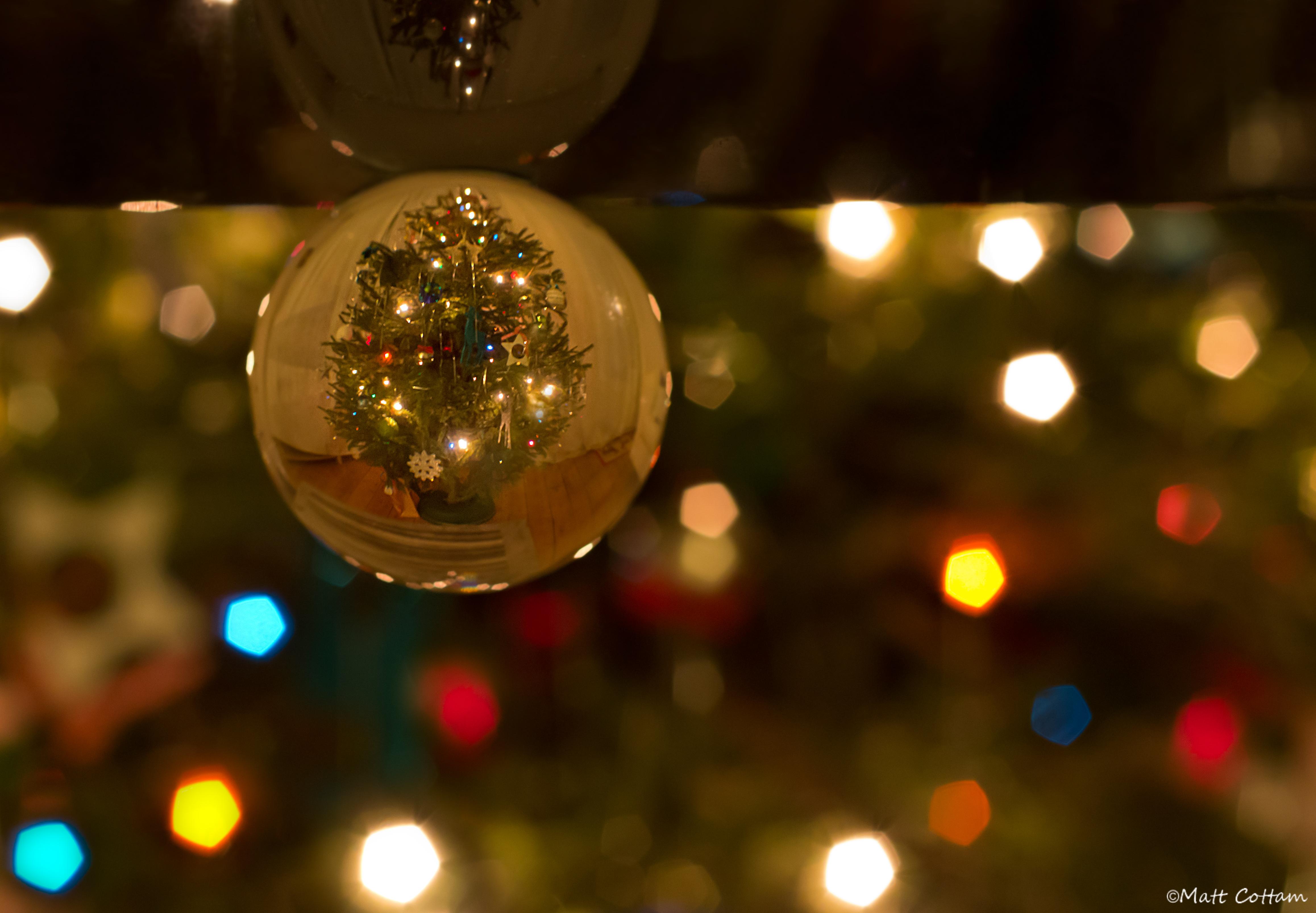 デスクトップ壁紙 ライト 夜 反射 結晶 クリスマスツリー ボケ 休日 クリスマスのあかり 玉 イベント 屈折 木 50mm 点灯 装飾 コンピュータの壁紙 クリスマスの飾り マクロ撮影 水晶球 胎児 ハッピークリスマス Christmastreelights Christmas