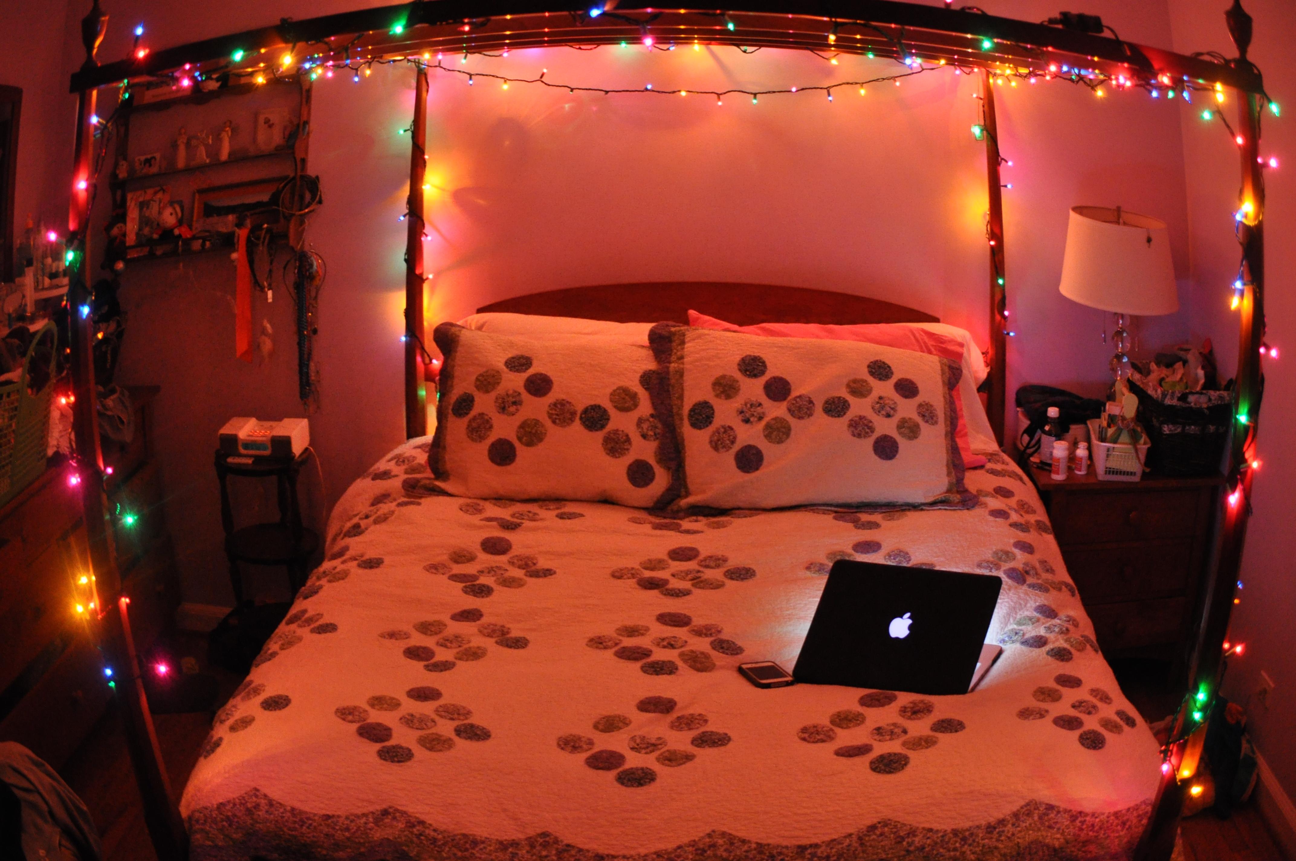 Sfondi Natalizi Mac.Sfondi Notte Camera Letto I Phone Luci Di Natale Interior