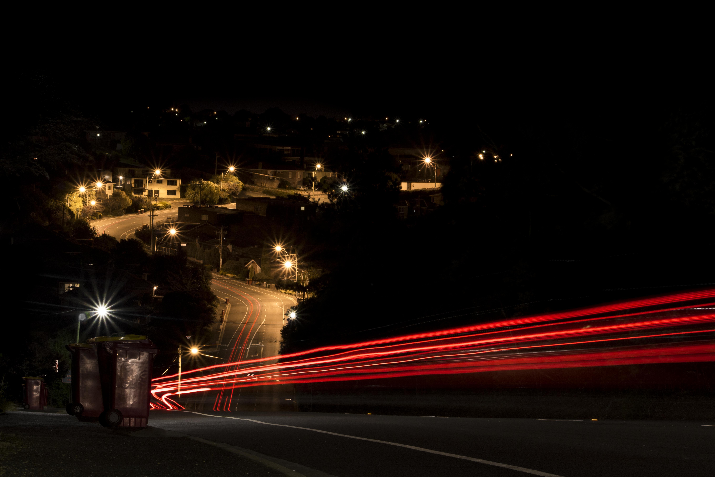 lights street light street night car evening dusk stream tripod light long exposure lighting darkness bulb & Wallpaper : lights street light night car evening dusk stream ...