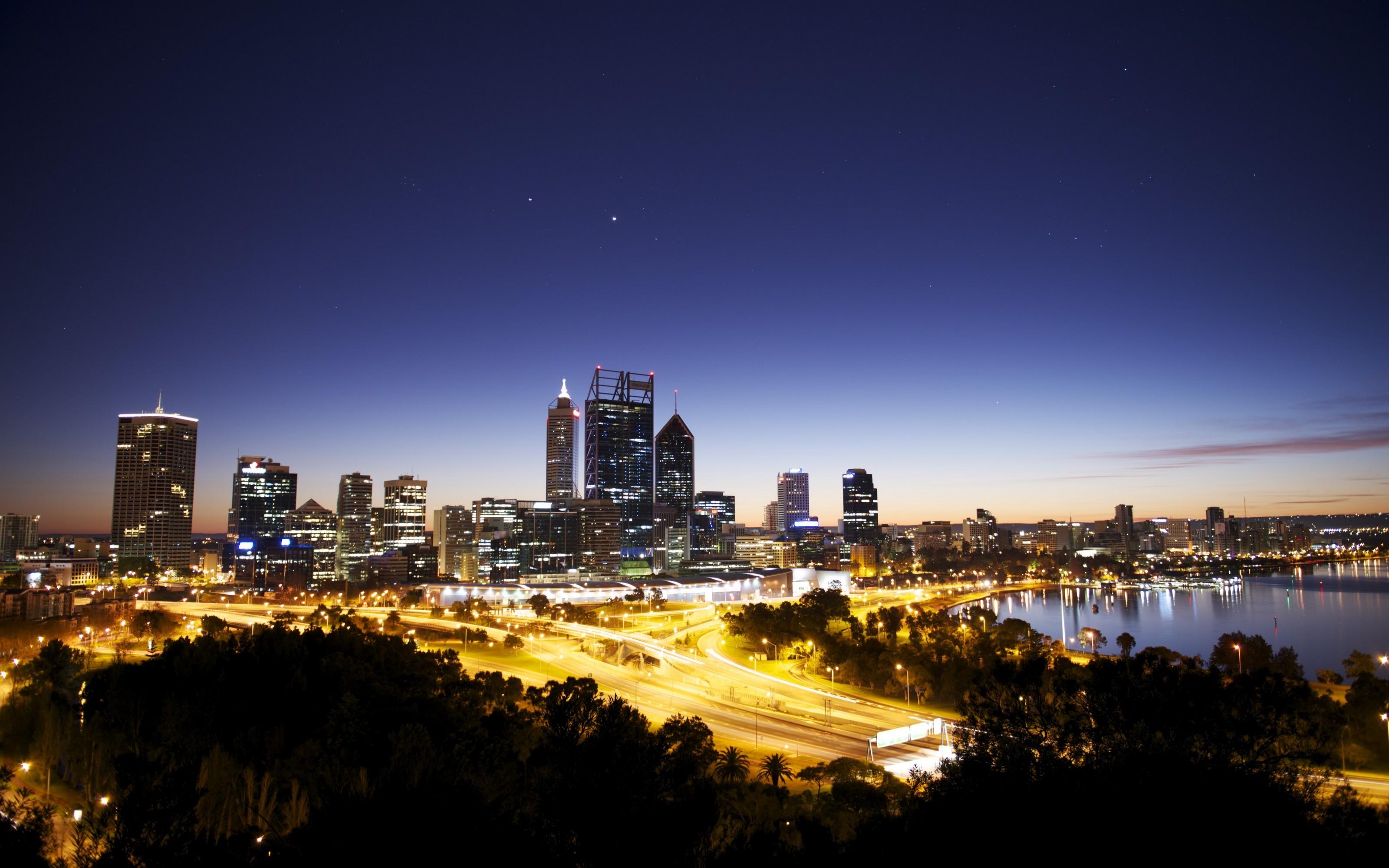 Обои melbourne, downtown, мельбурн, Australia, ночь, австралия. Города foto 16