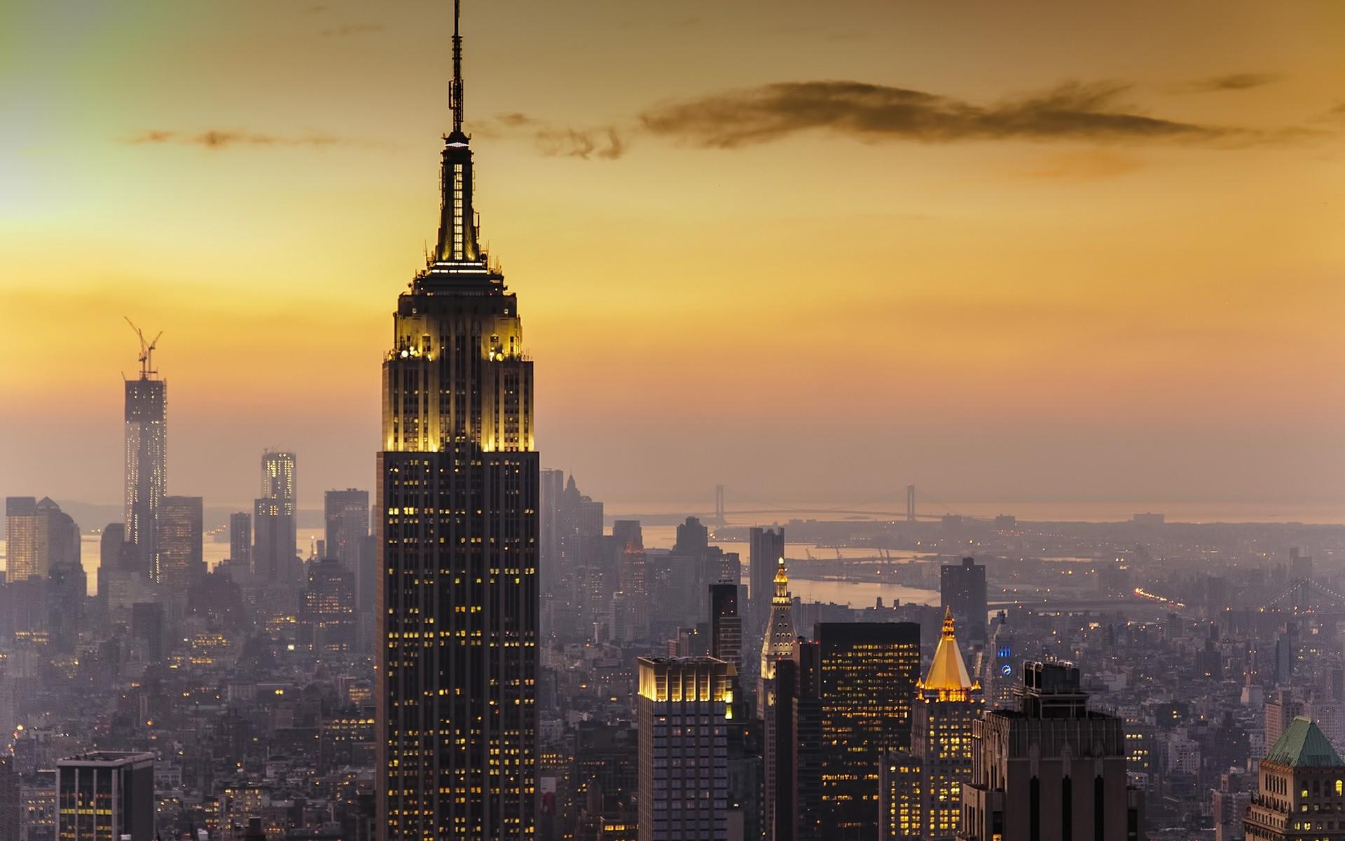 Most Inspiring Wallpaper Night Empire State Building - lights-sunset-city-cityscape-night-architecture-building-clouds-sunrise-skyline-skyscraper-evening-morning-tower-bridge-river-New-York-City-horizon-USA-cranes-machine-dusk-Manhattan-metropolis-Empire-State-Building-haze-downtown-dawn-landmark-1920x1200-px-Birds-Eye-View-urban-area-atmospheric-phenomenon-metropolitan-area-human-settlement-593972  Pic-57814.jpg