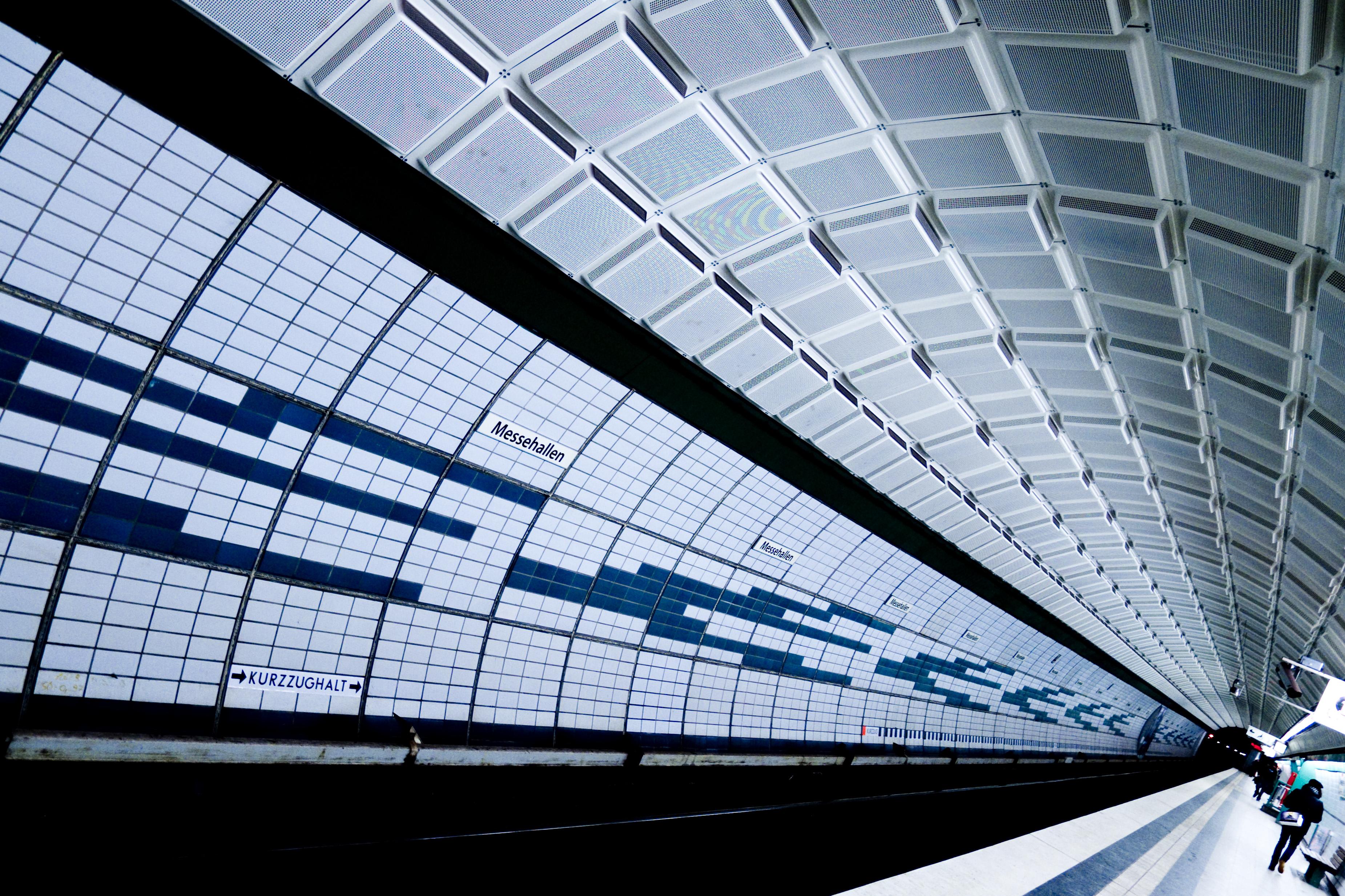 Fond D Ecran Lignes U2 Geometrie Courbes Hambourg
