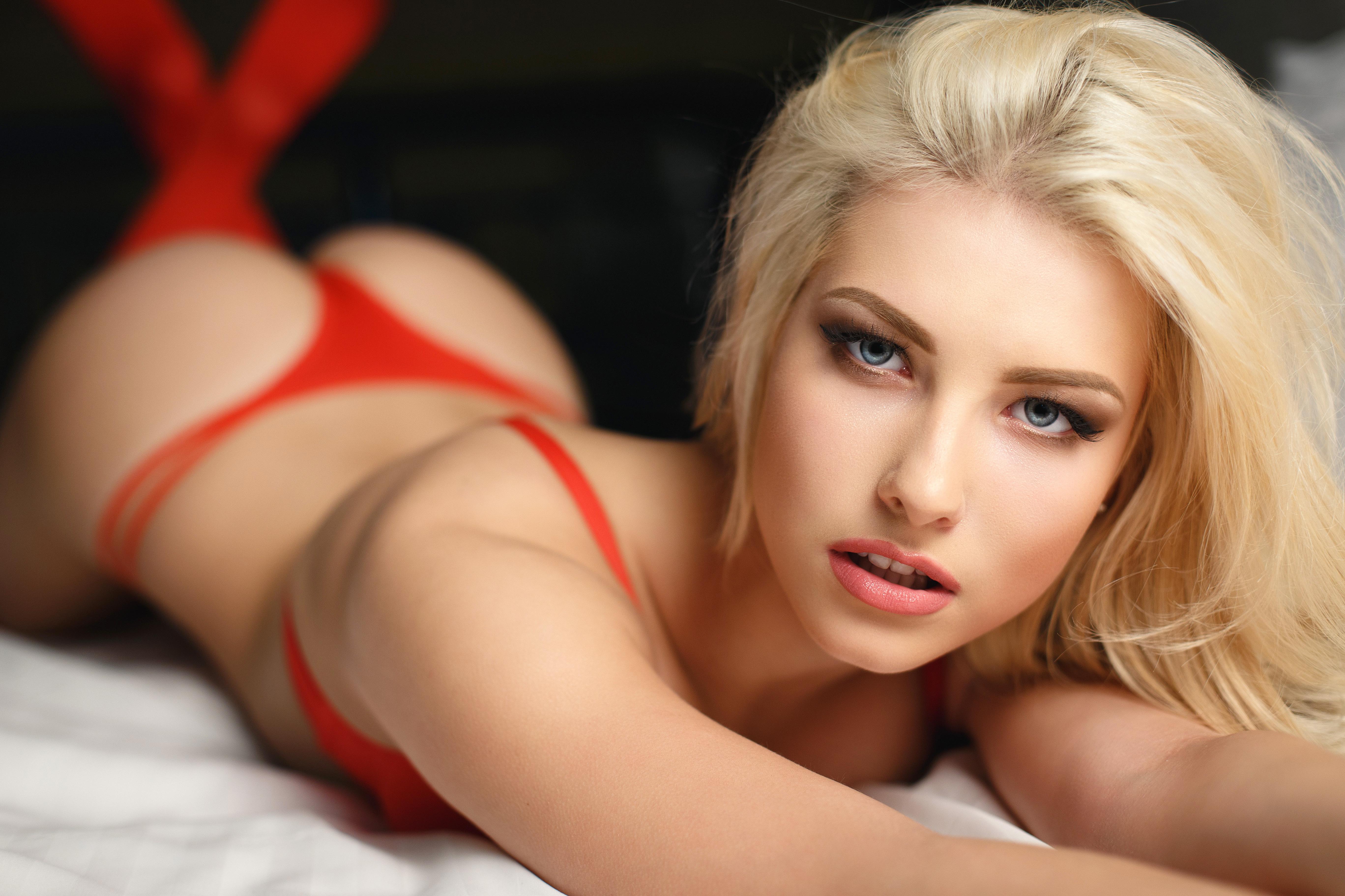Portrait sexy blonde image photo