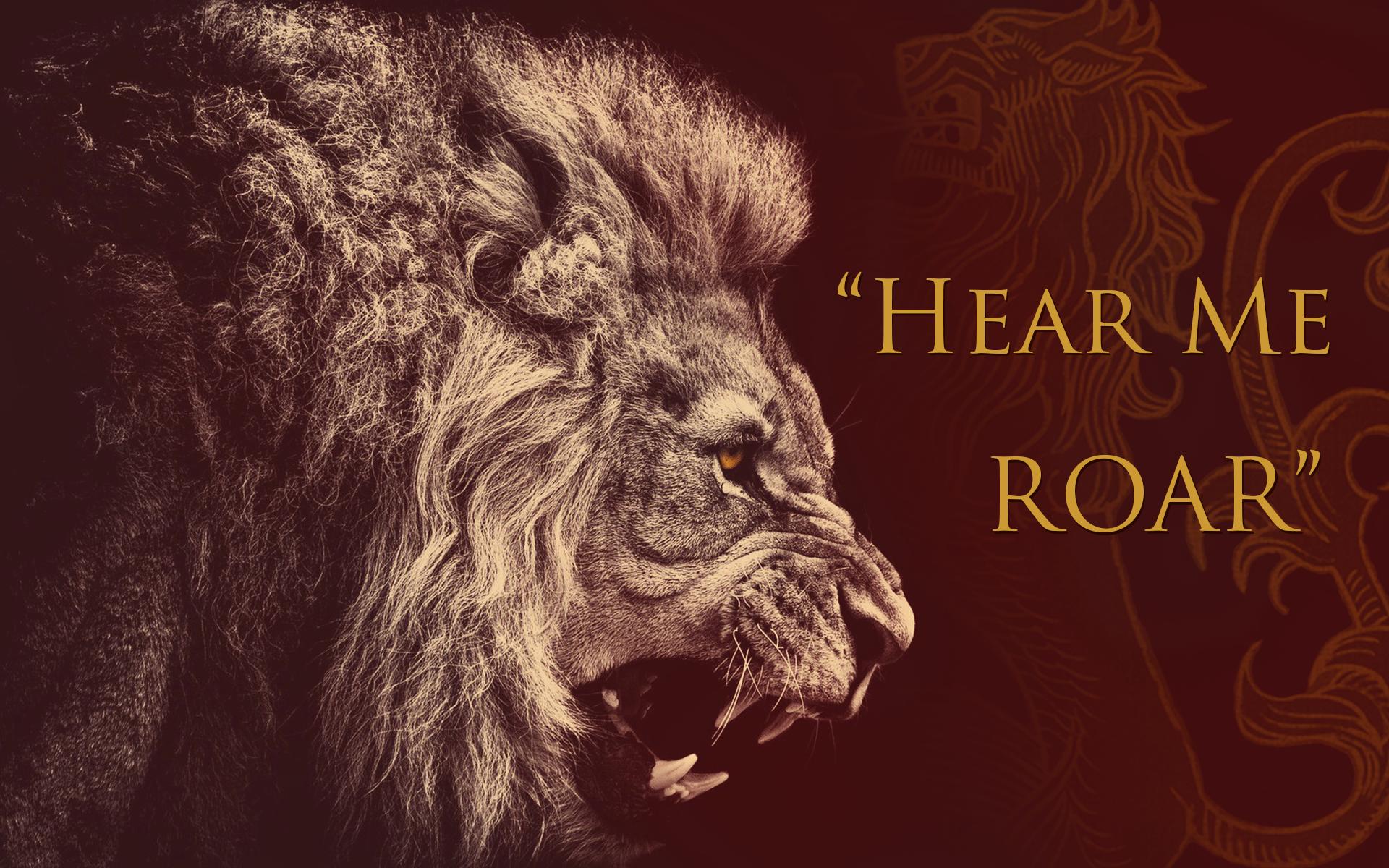Lion House Lannister Sigils Game Of Thrones
