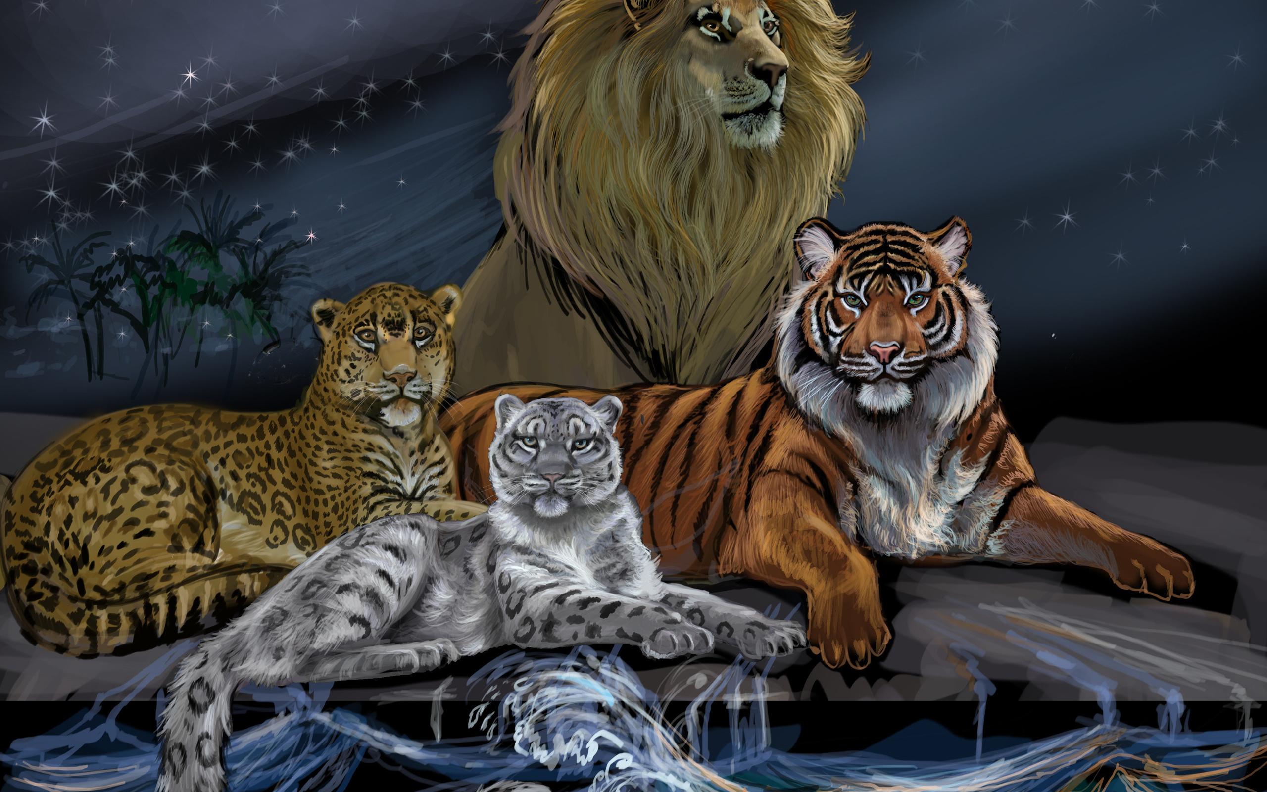 тигры львы рысь картинки бытовых домашних вакууматоров