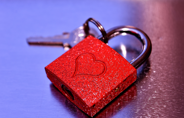 lock heart love 1184321