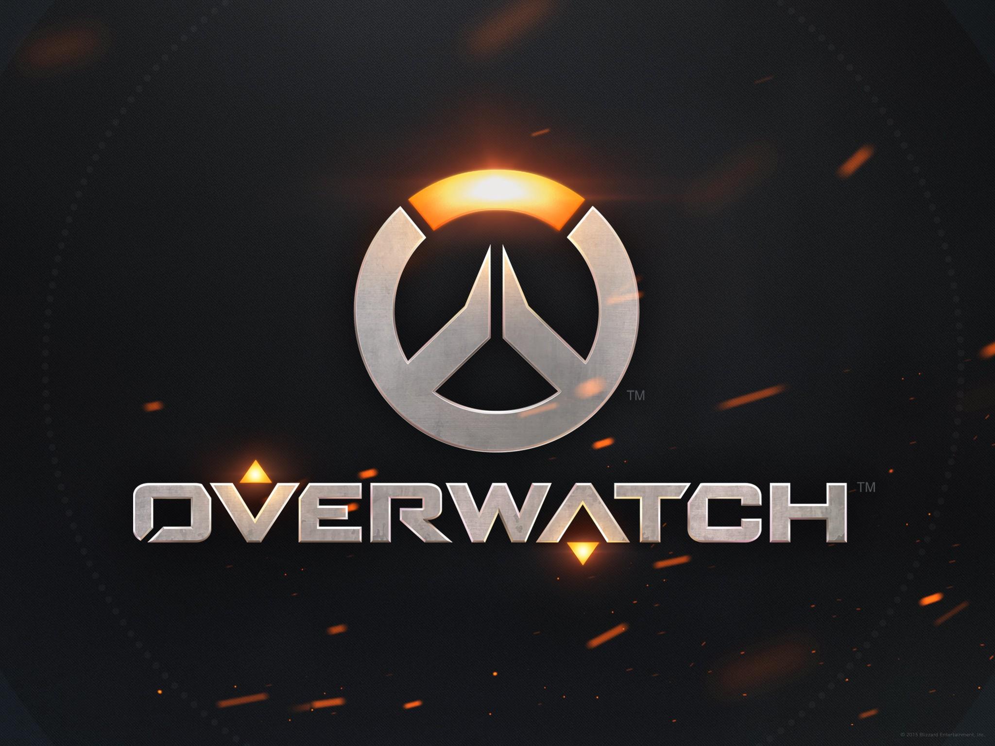 Wallpaper Logo Overwatch Brand Screenshot Computer