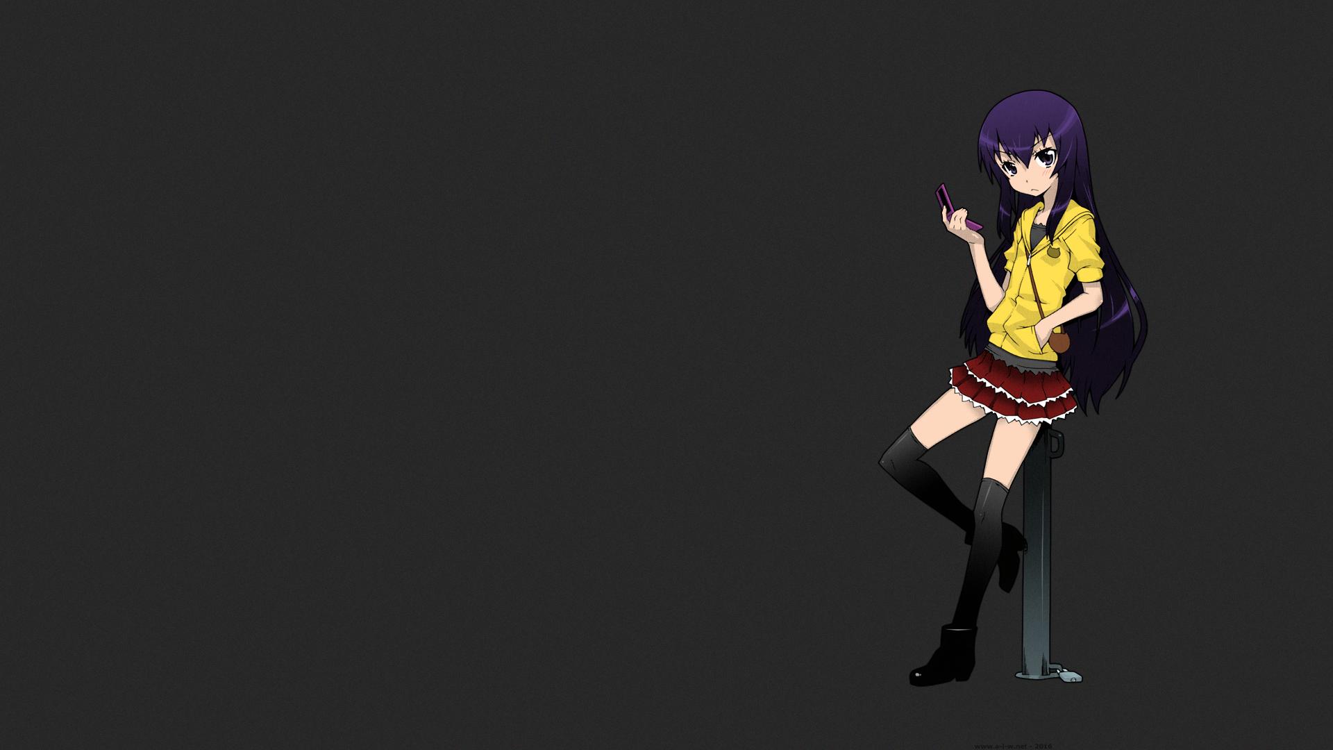 Fond Décran Cheveux Longs Anime Filles Anime Bas