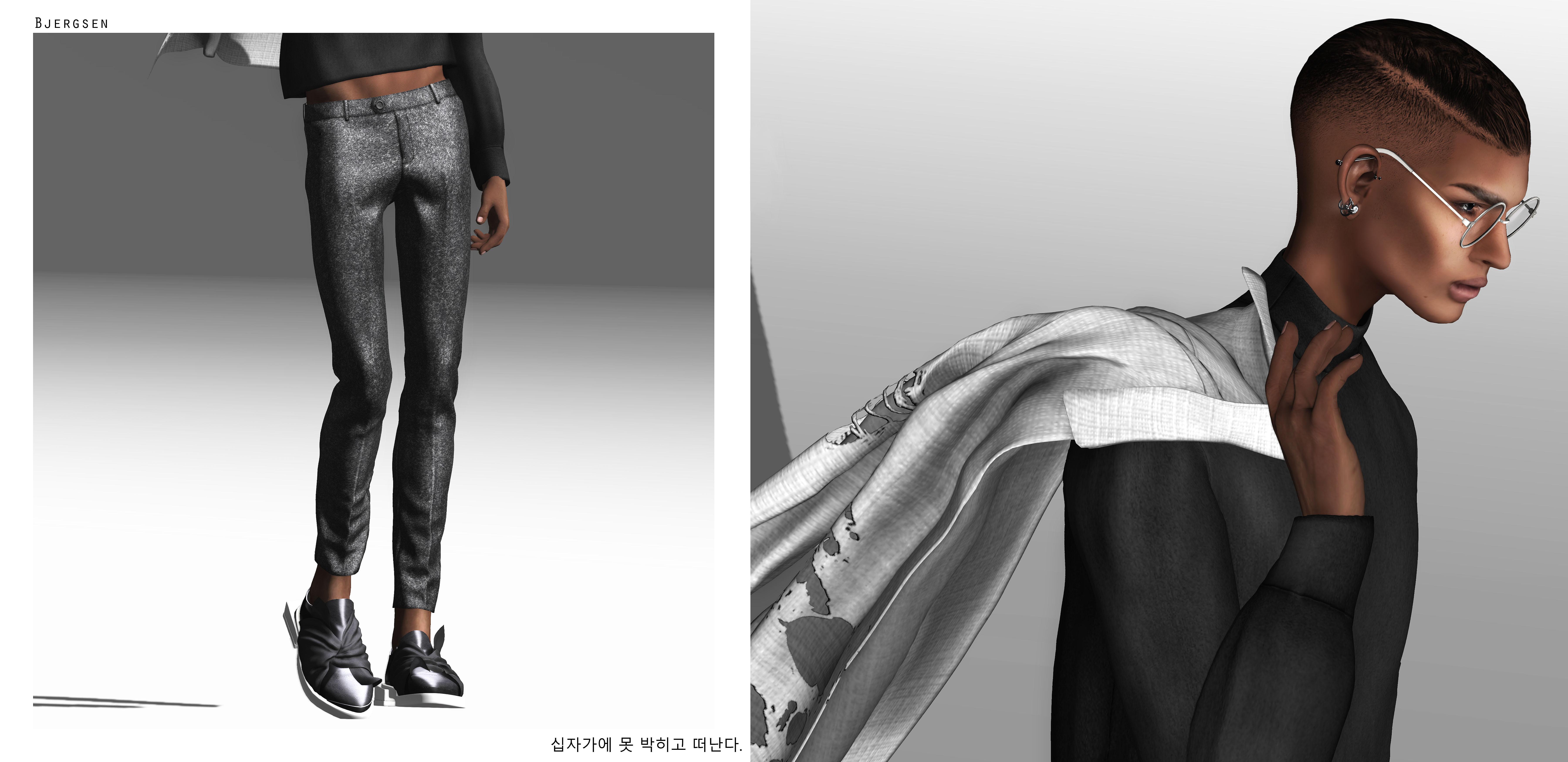 Hair Style Jeans: Wallpaper : Long Hair, Glasses, Jeans, Jacket, Pants