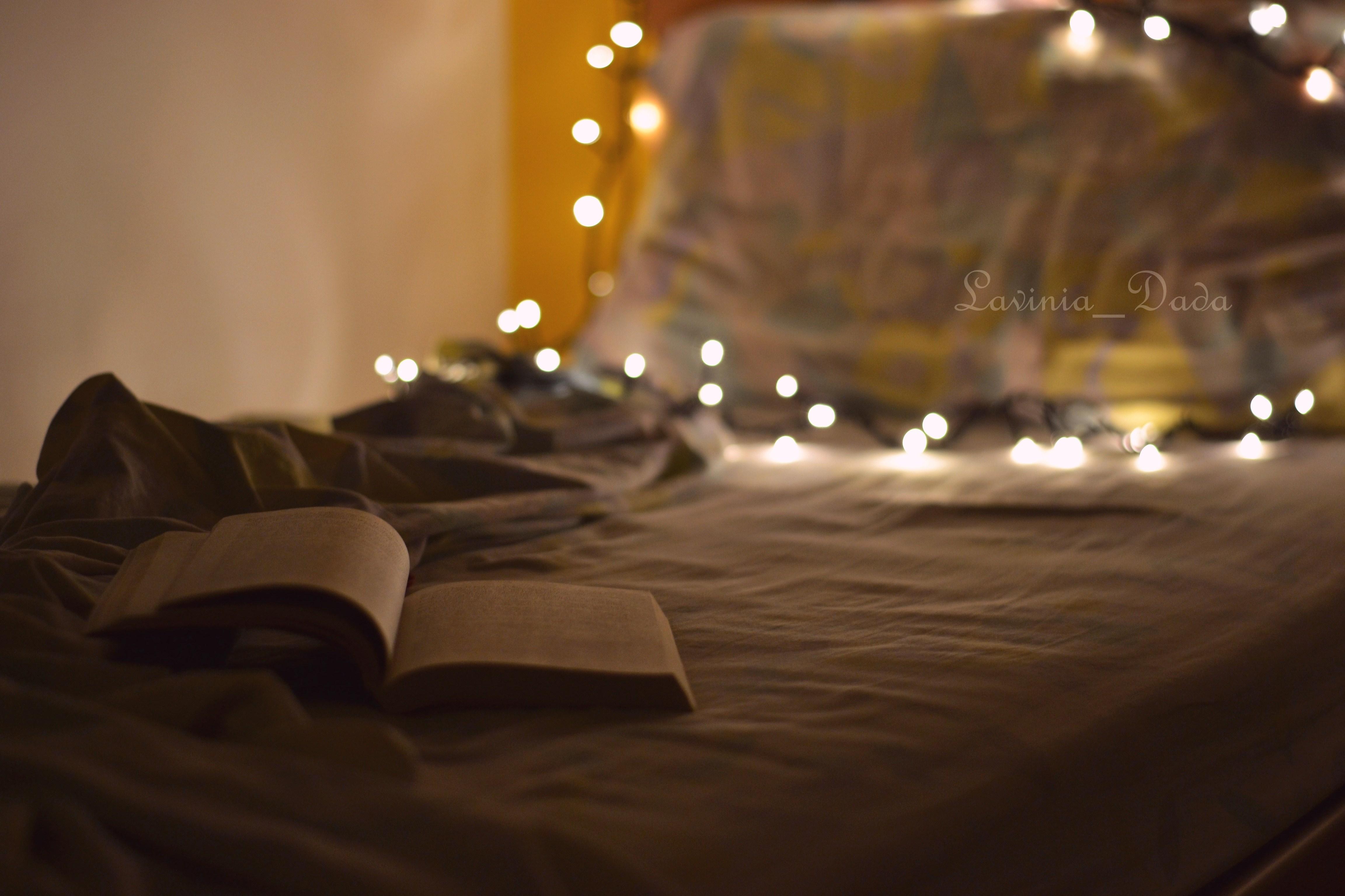 Baggrunde : elsker, nat, læsning, lys, Bestil, seng, blød, sød ...