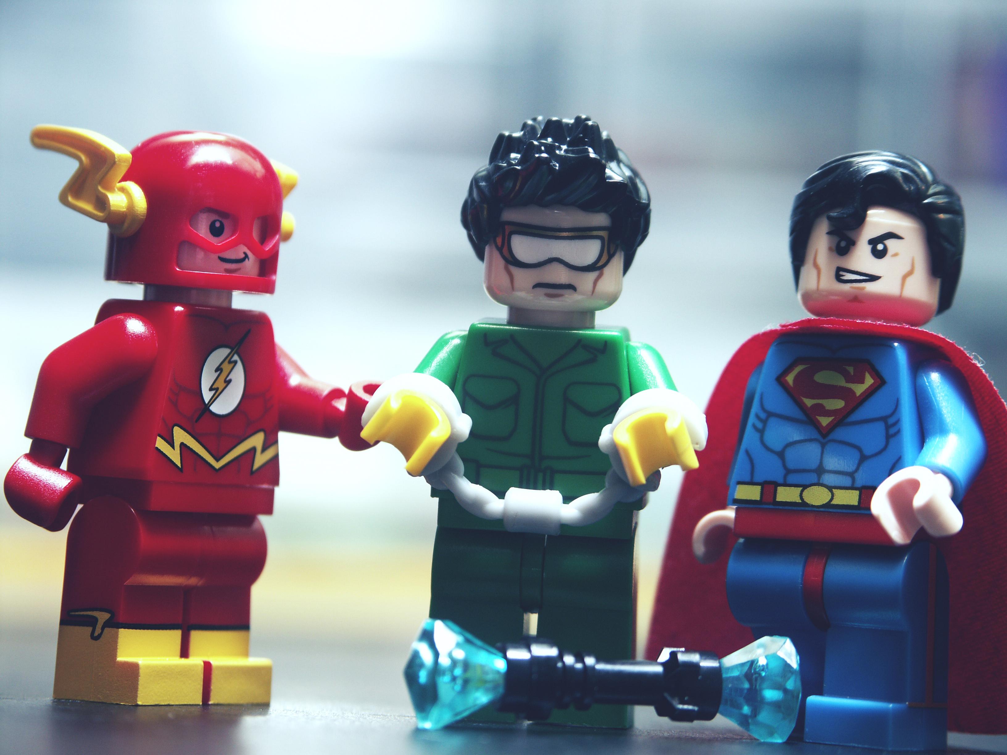 Wallpaper Macro Comics Dc Lego Superman Minifig Dccomics