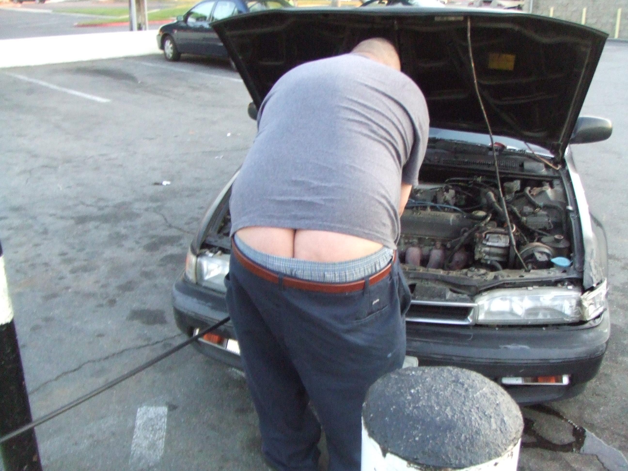 man guy ass beer gut big random fat butt chub dude crack belly buttcrack  bubba beerbelly