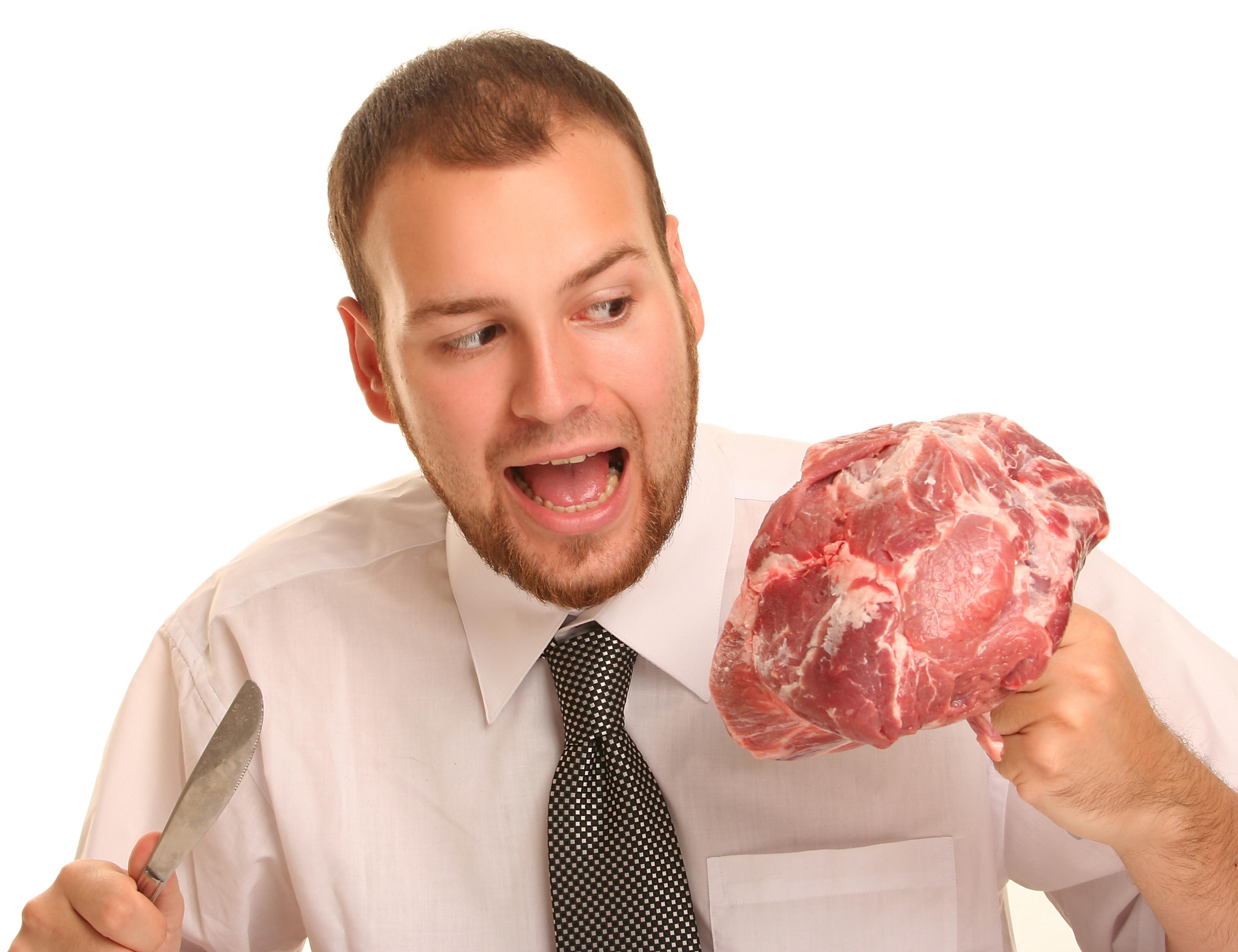 Смешные картинки, картинки есть мясо