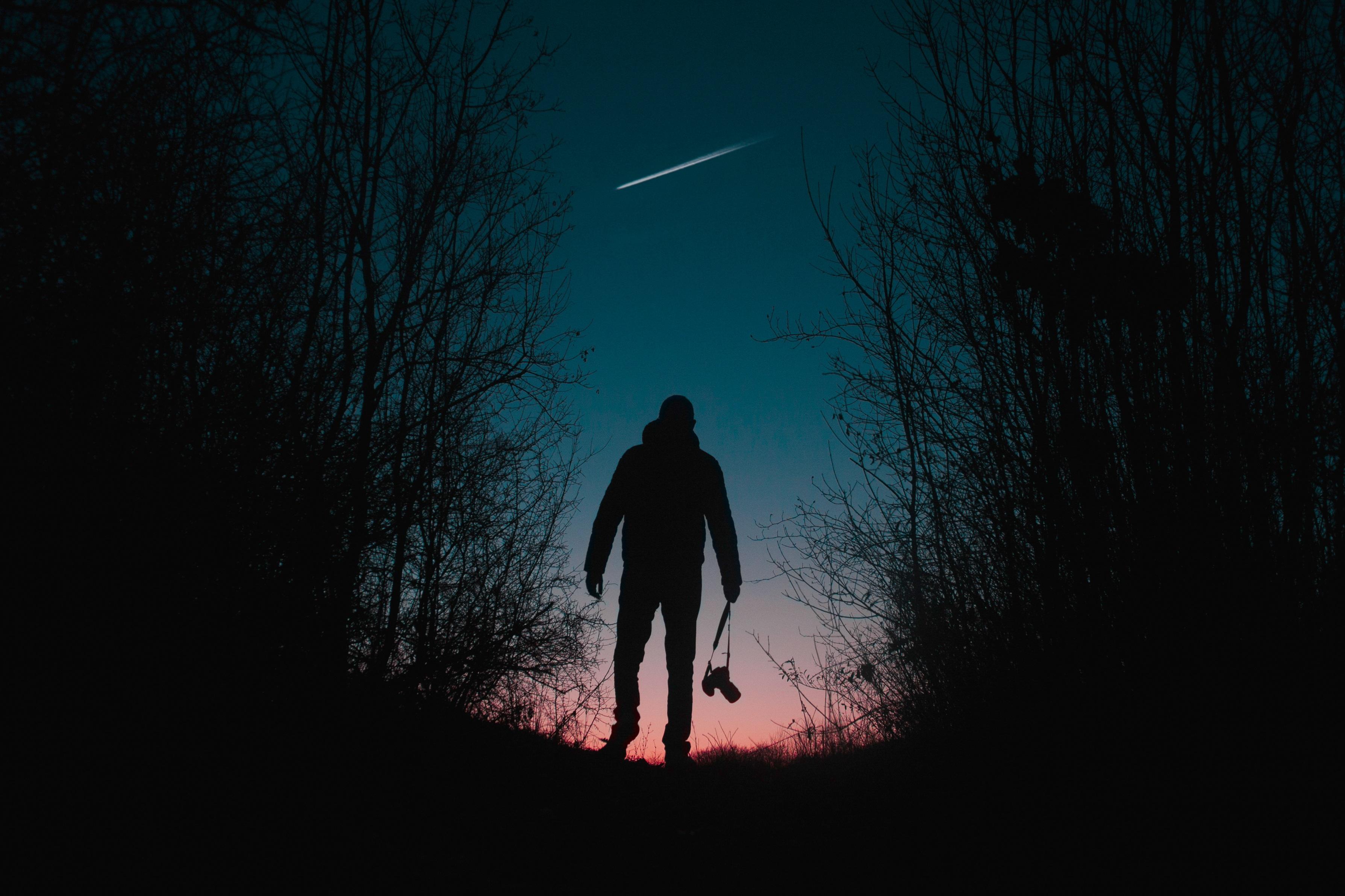 Картинки ночной человека