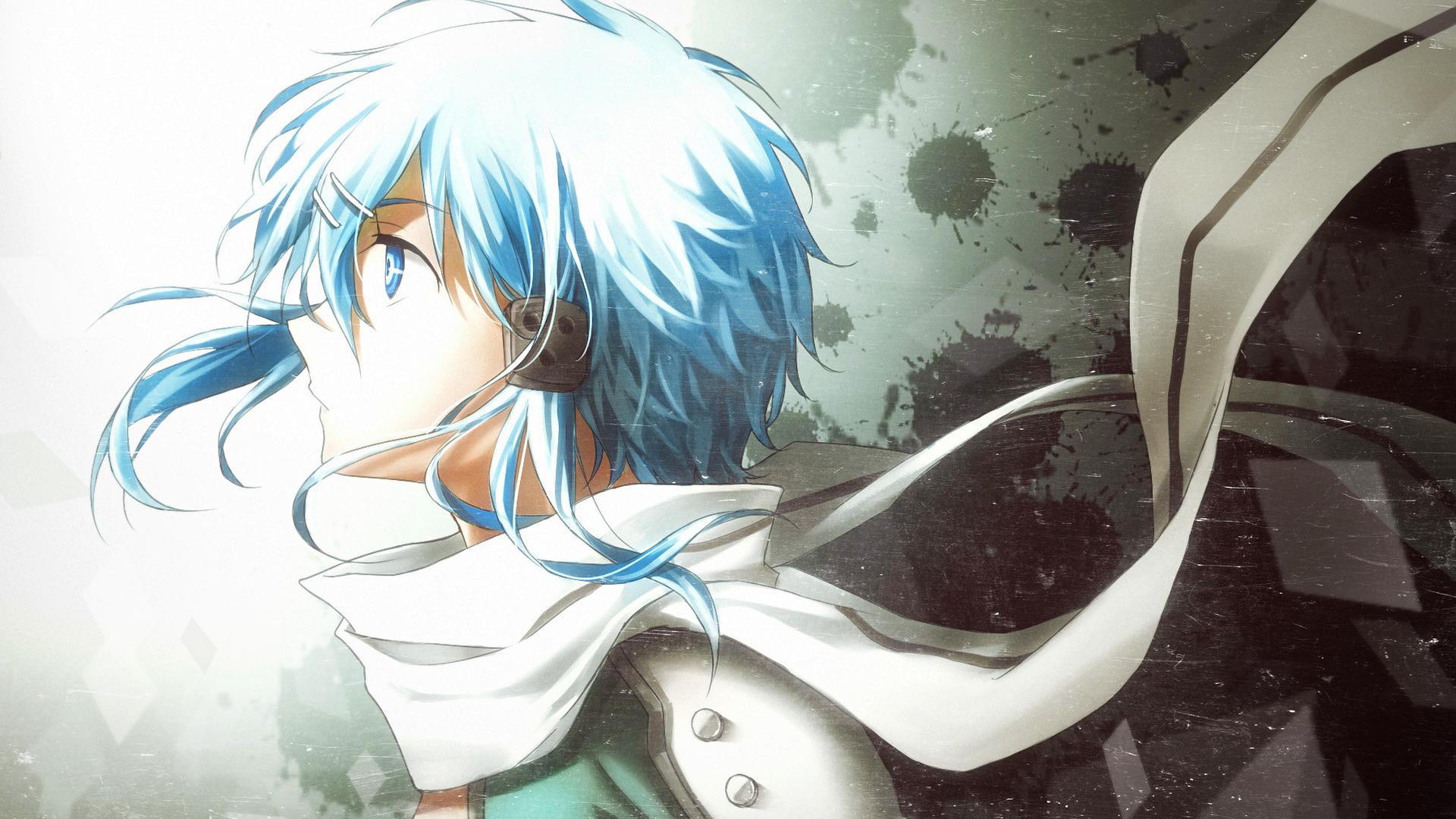 Wallpaper : manga, Sword Art Online, Asada Shino 1920x1080 ...