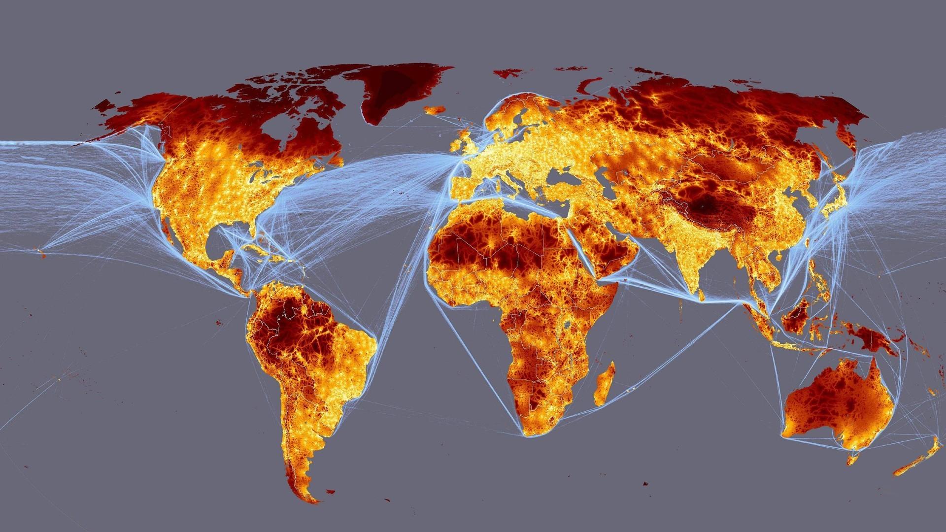 Карта уровне интернета фото