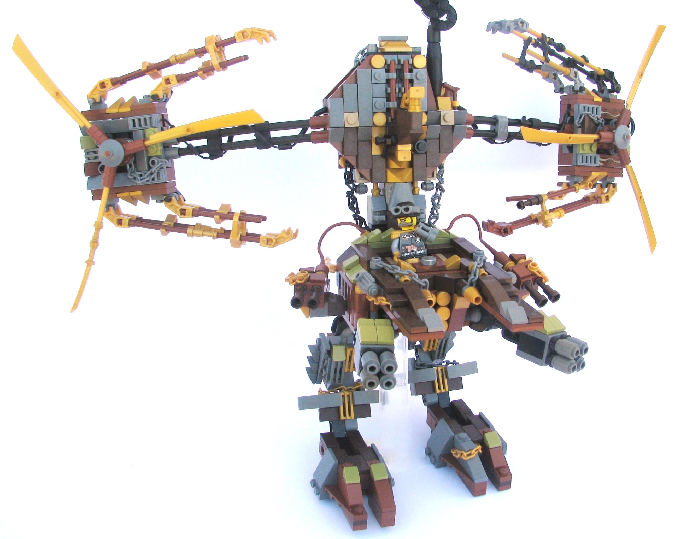 поверите, картинки лего роботов мутантов есть