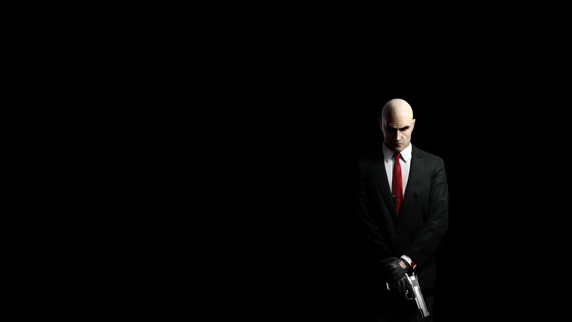hombres negro pistola videojuegos Fondo simple fondo negro arma Hidalgo  trajes Sicario oscuridad captura de pantalla 36afdab982e