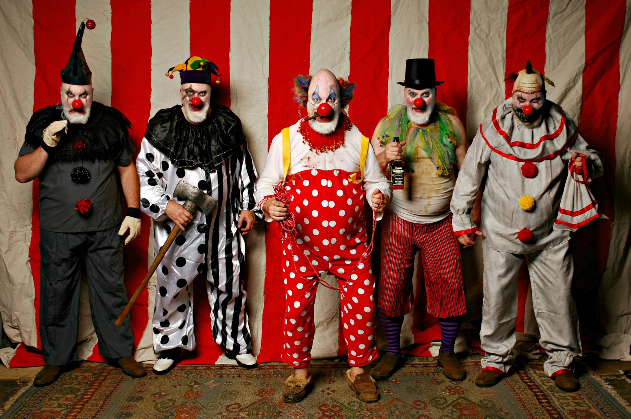 Цирк и клоуны картинки