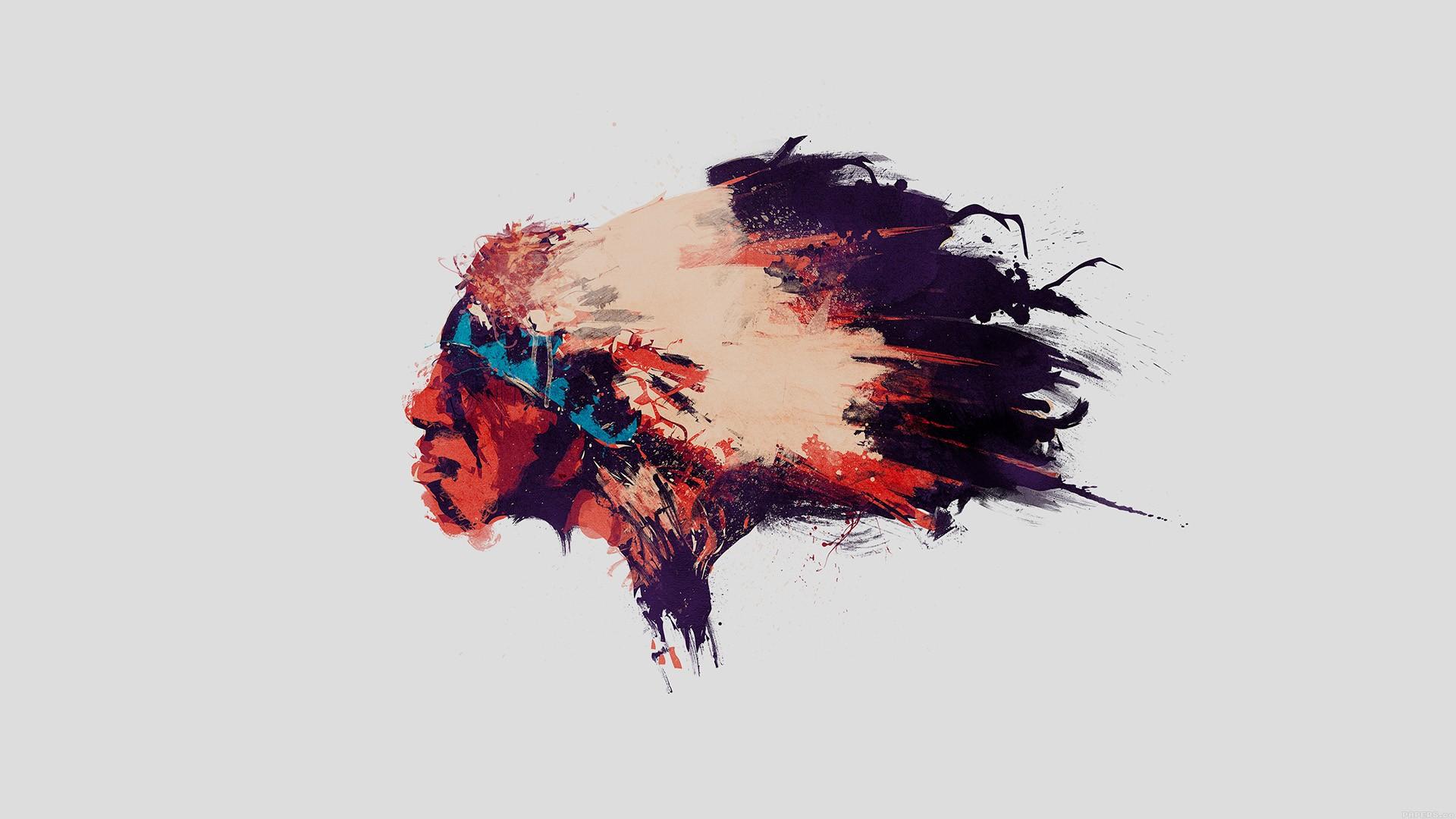Masaüstü Erkekler Yüz çizim Boyama Illüstrasyon Dijital Sanat