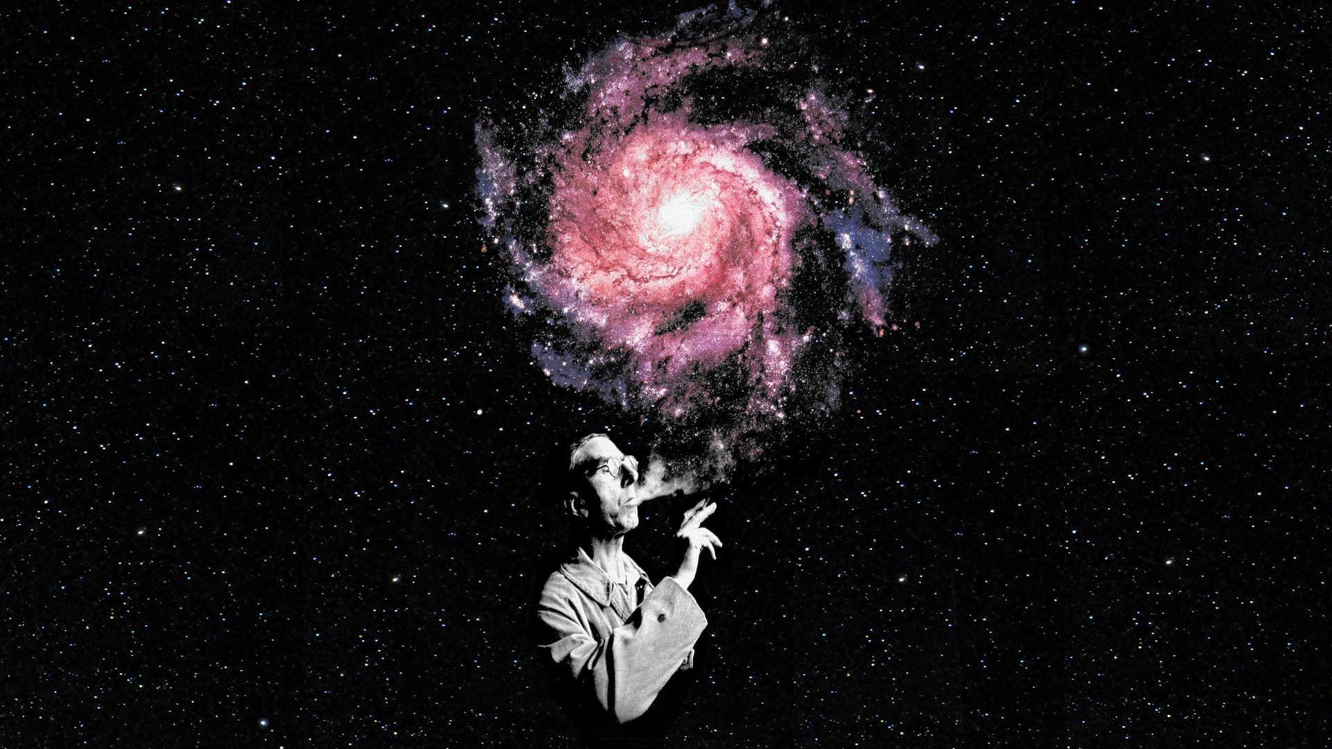 Ilustração Gratis Espaço Todos Os Universo Cosmos: Papel De Parede : Homens, Ilustração, Galáxia, Fumaça