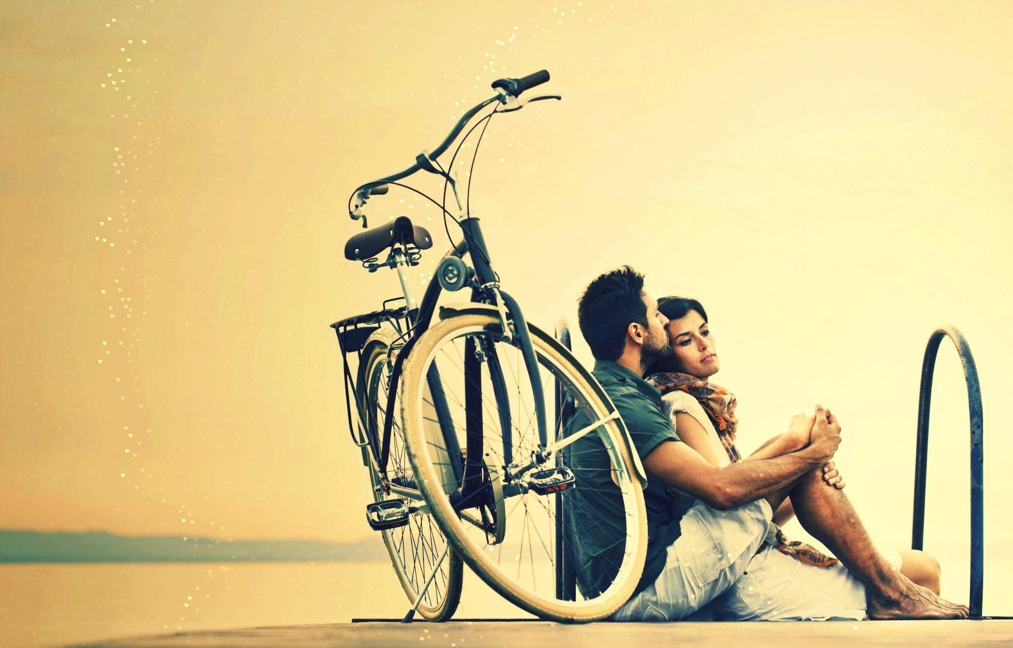 разу фотосессия на велосипеде пара его