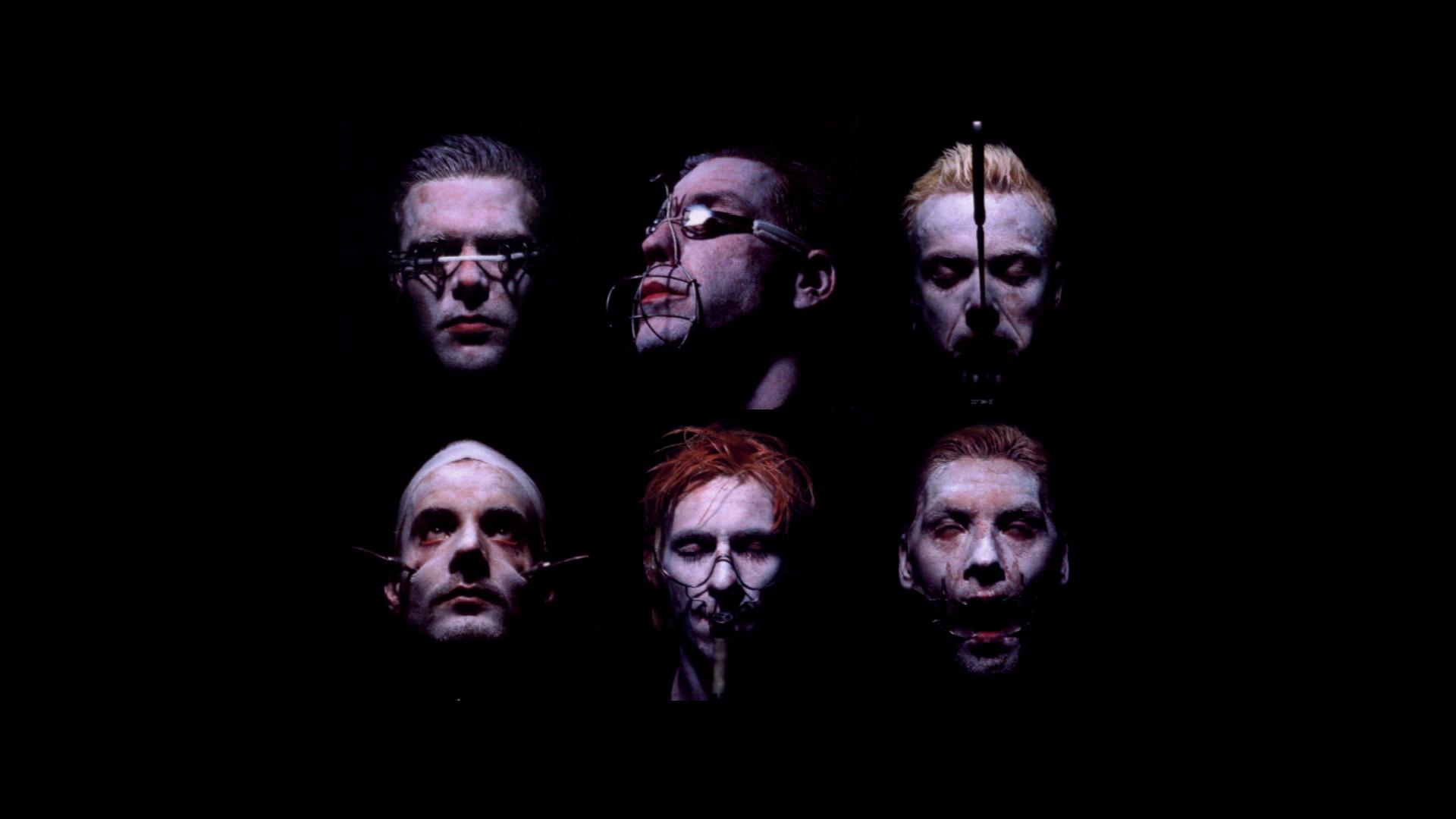 Men Minimalism Artwork Music Rammstein Darkness Screenshot Special Effects Facial Hair