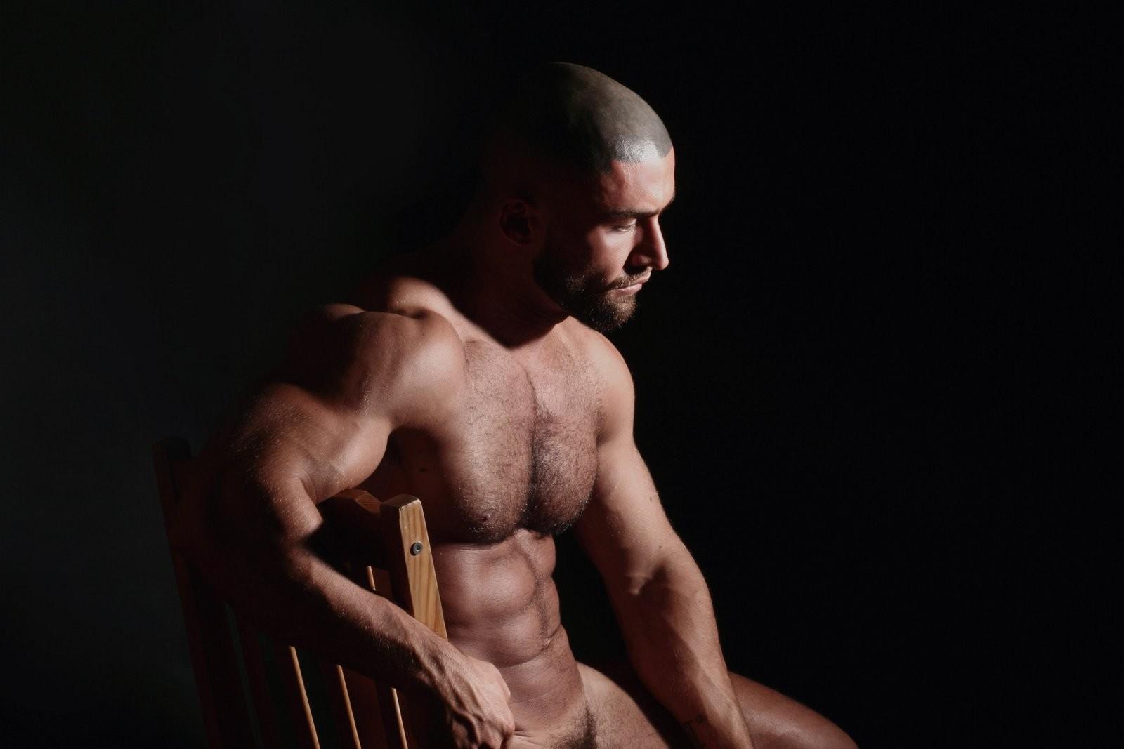 Wallpaper  Men, Shirtless, Bodybuilding, Nude, Man, Sense -2493