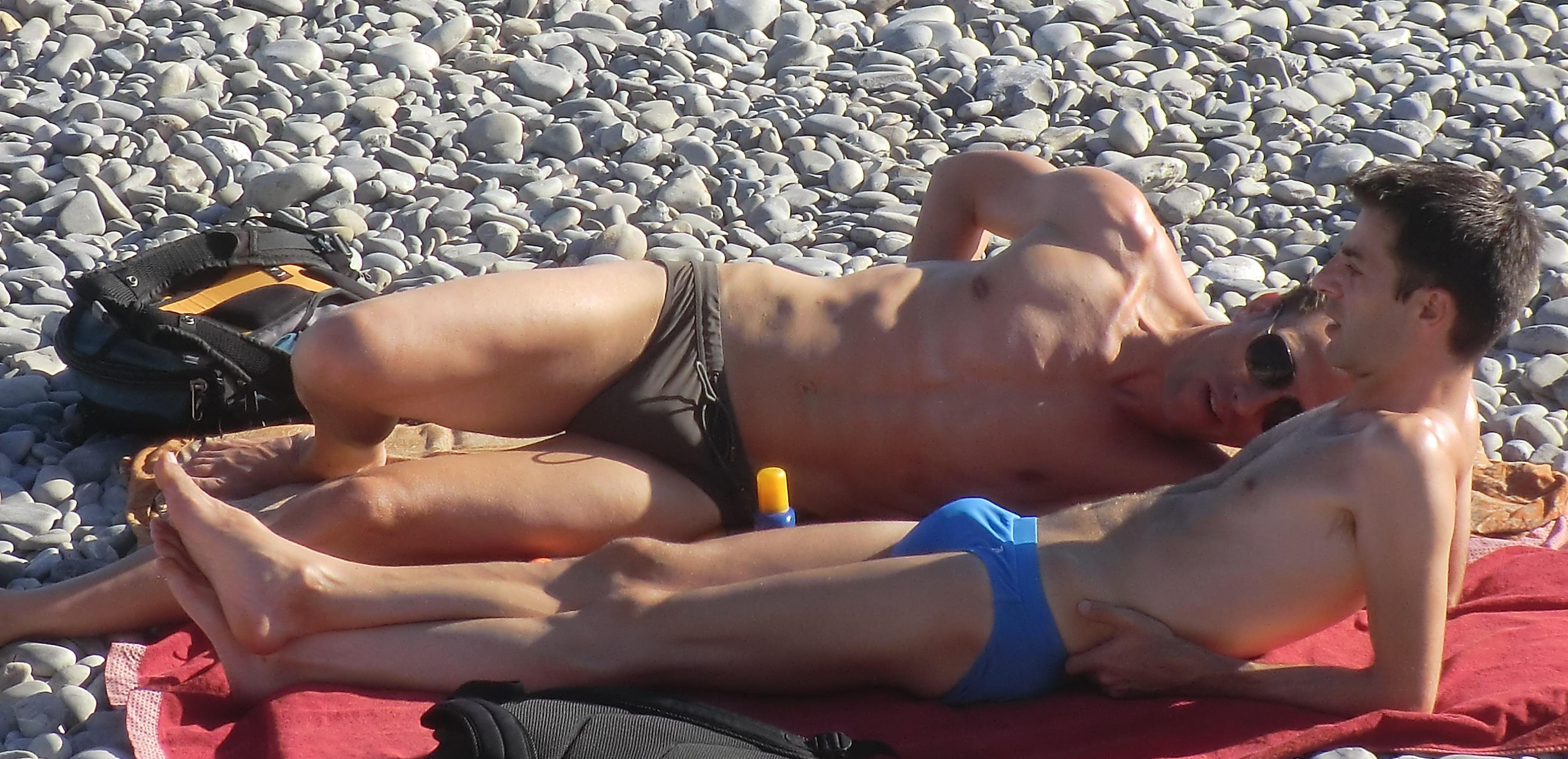 gay beaches france