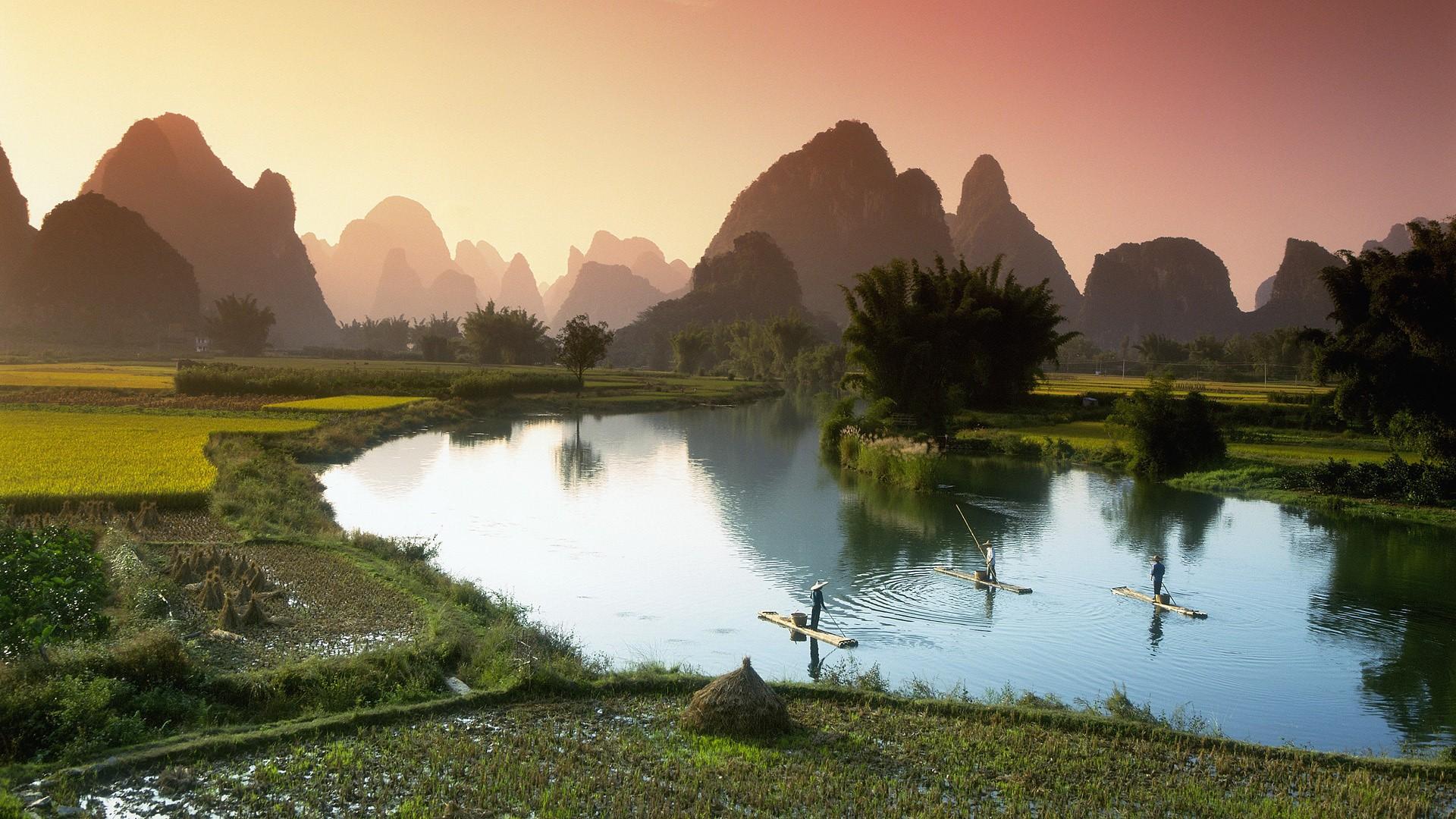 Обои на рабочий стол пейзажи китая