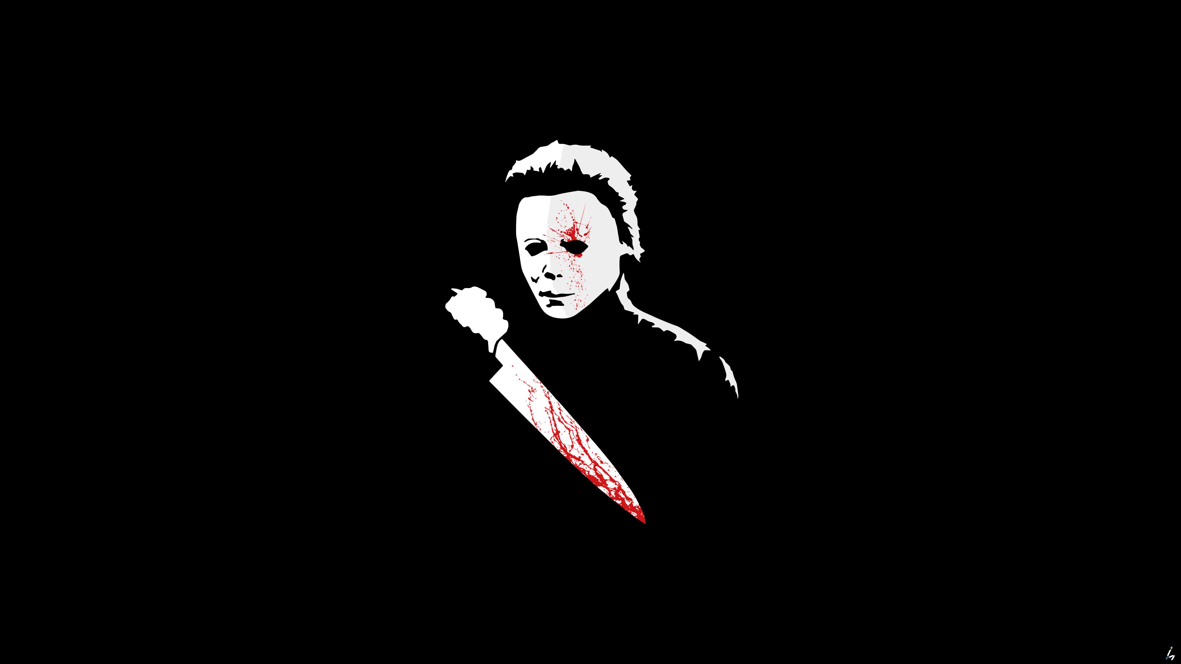 Wallpaper Michael Myers Halloween Horror Fan Art Digital Art