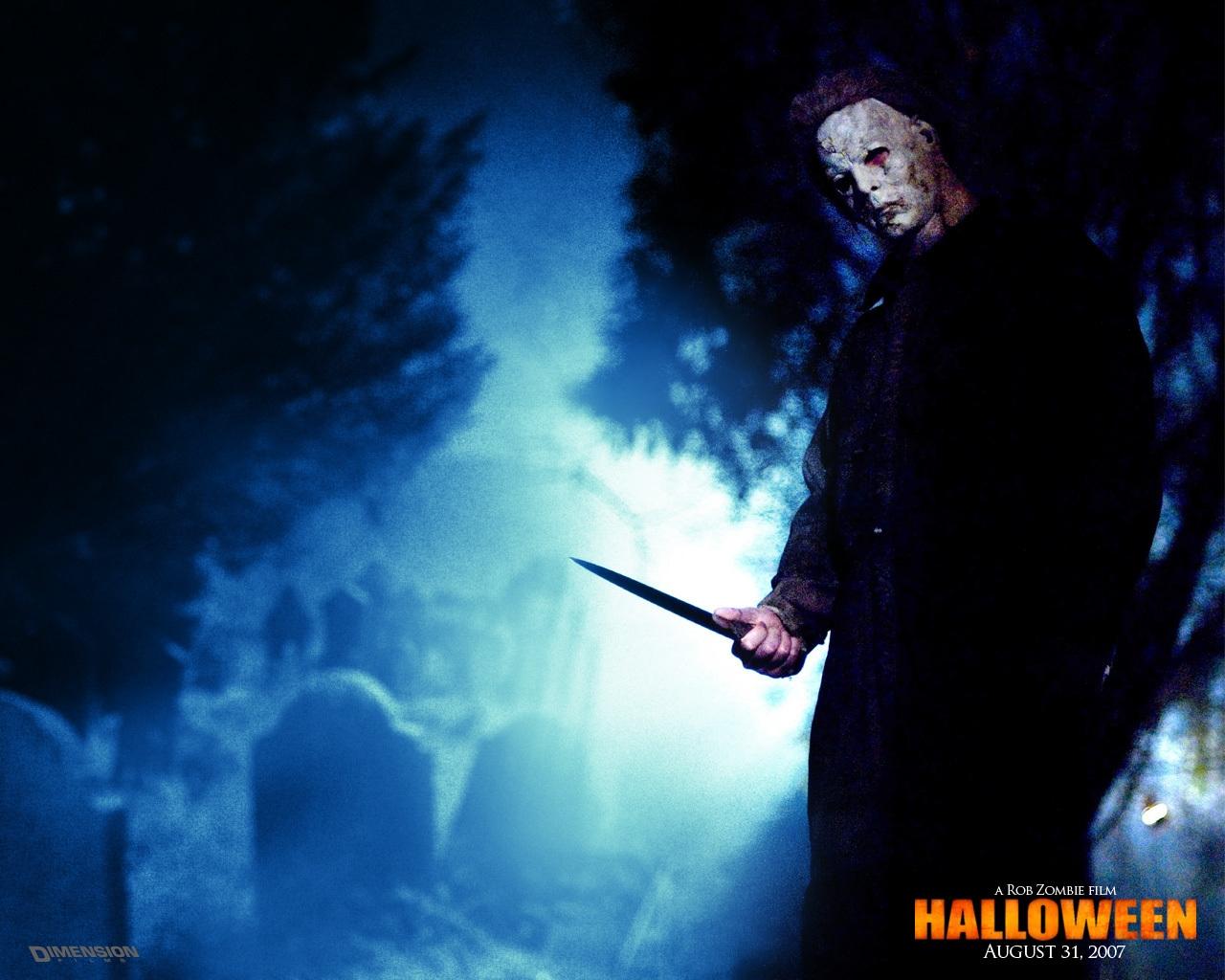 Wallpaper Michael Myers Maniac Killer Knife Mask Fear Horror