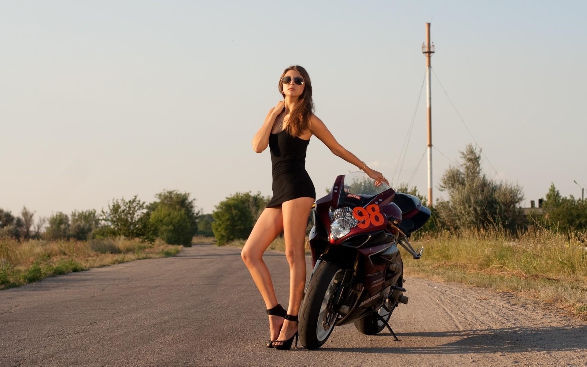 Wallpaper  Minidress, Bicycle, Tight Clothing, Legs -8806