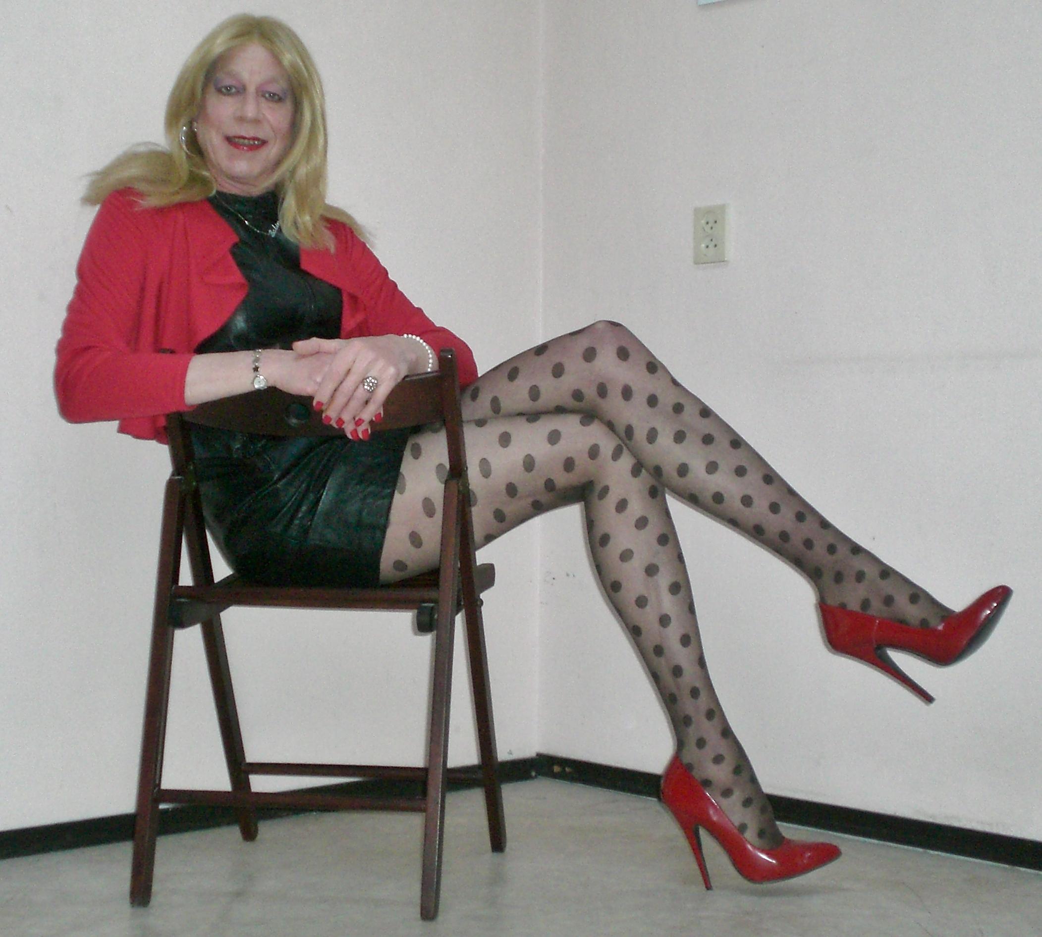 Crossdressing high heels Crossdresser High