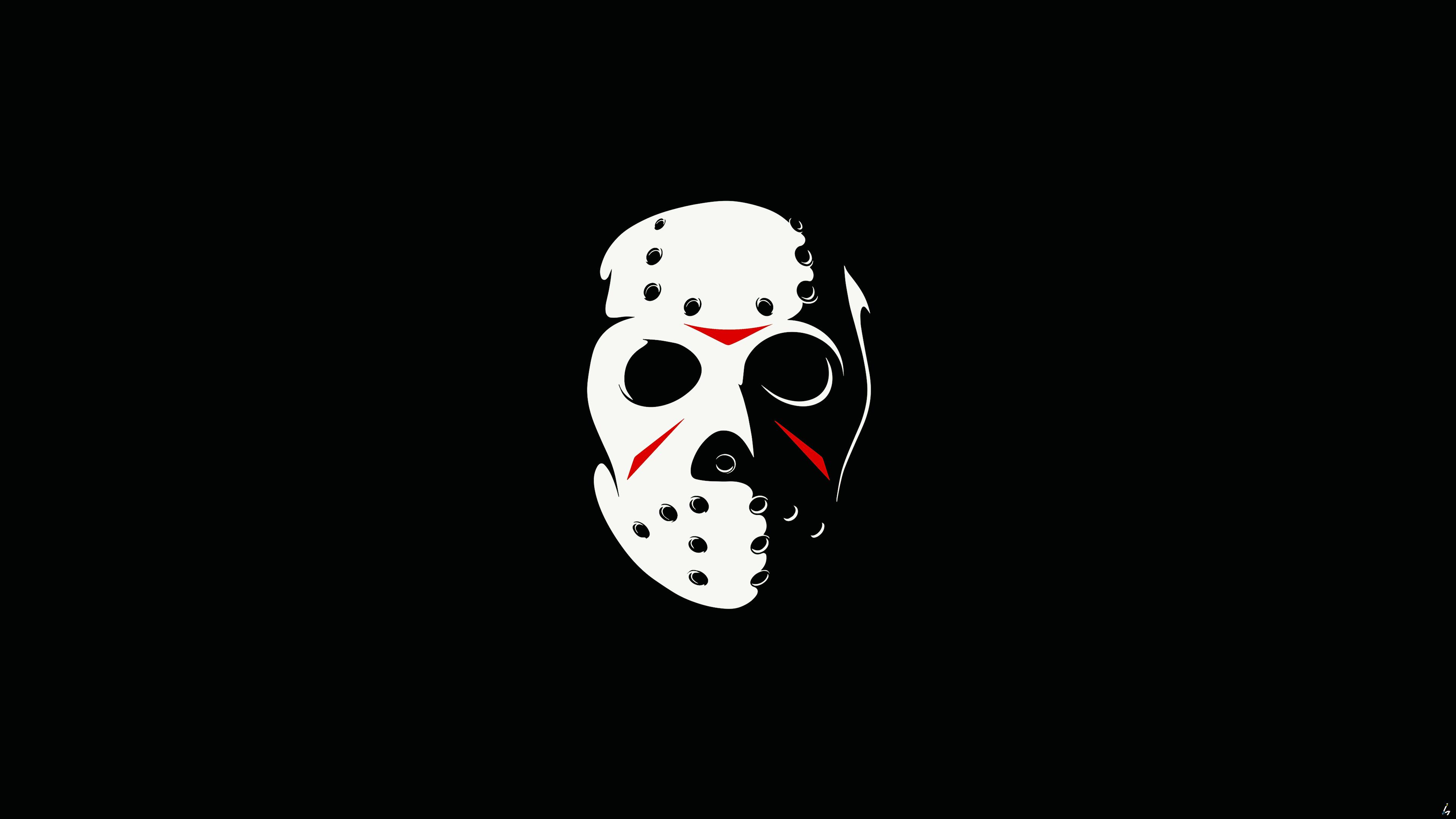 Wallpaper Minimalism Jason Voorhees Friday The 13th