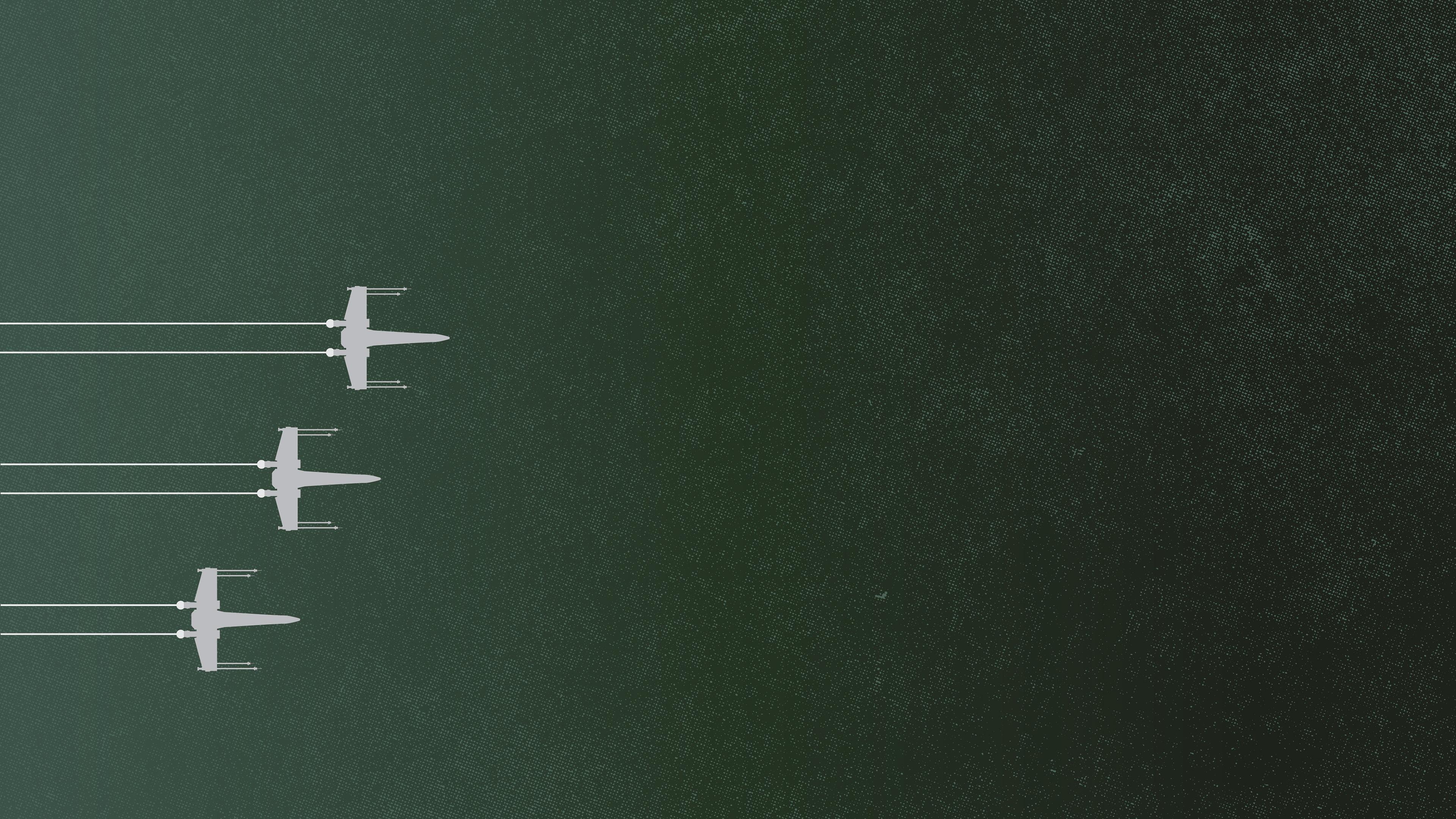 minimalism Star Wars X wing 1801429