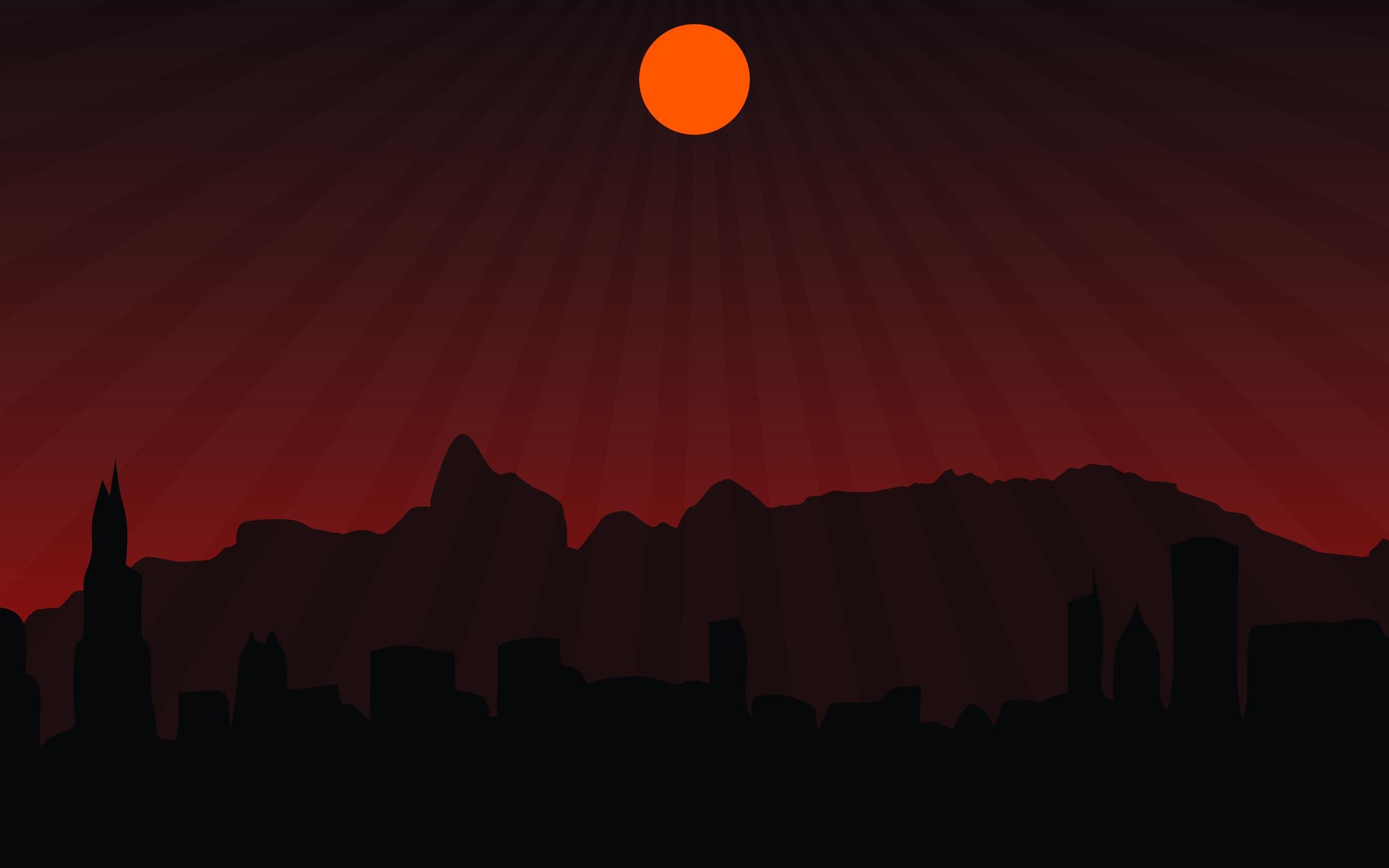 Unduh 76+ Background Pemandangan Gelap HD Terbaik