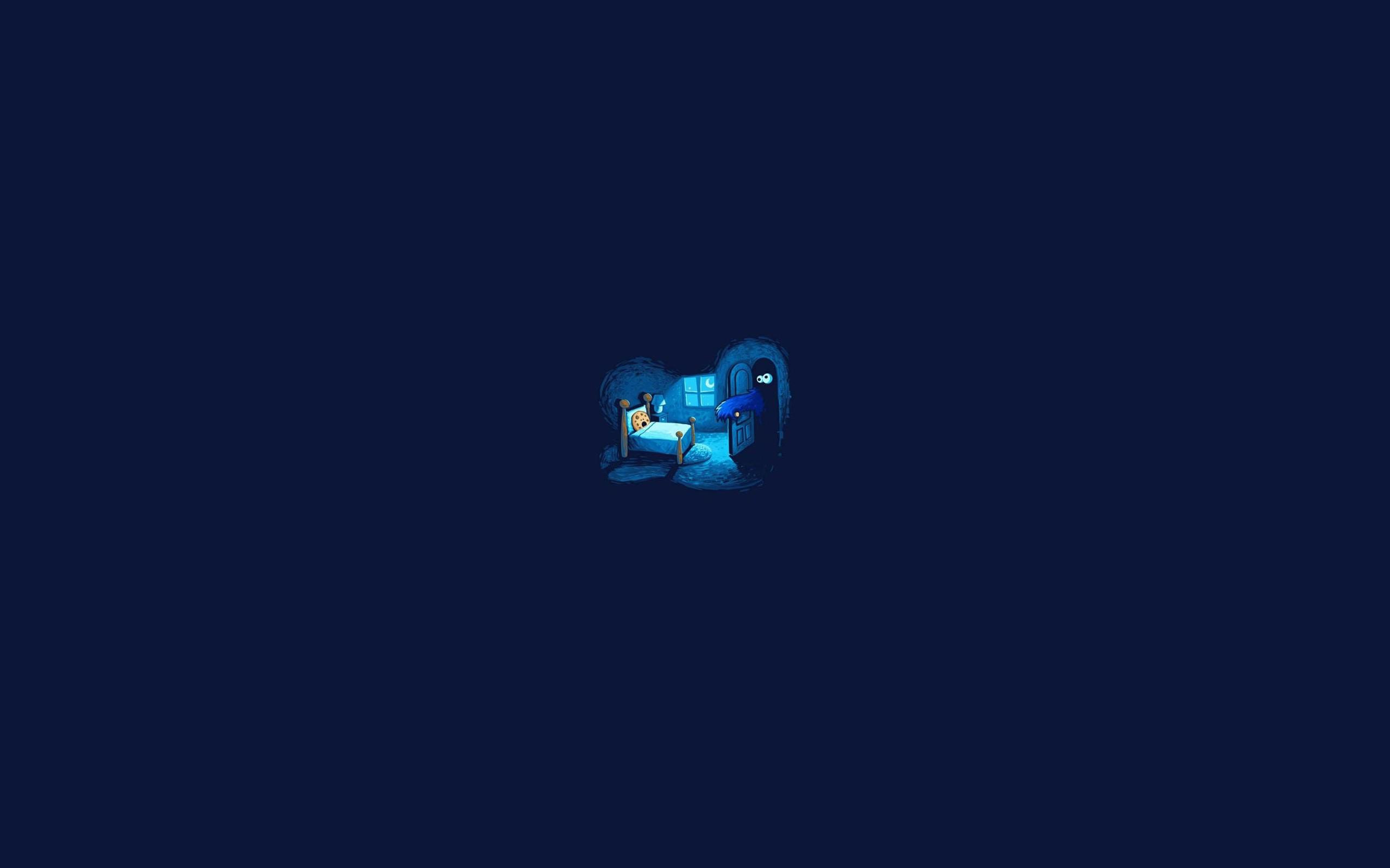 デスクトップ壁紙 ミニマリズム ユーモア ロゴ 青 クッキーモンスター スクリーンショット コンピュータの壁紙 フォント 2560x1600 Mxdp1 デスクトップ壁紙 Wallhere