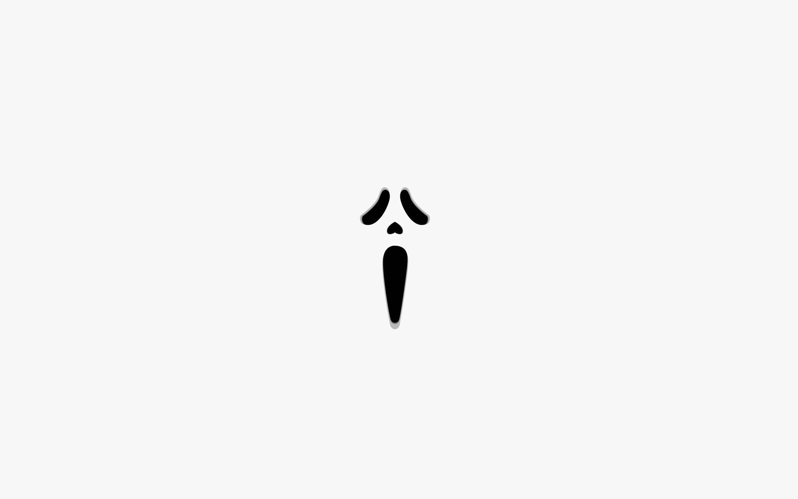 Wallpaper Minimalism Logo Brand Calligraphy Scream