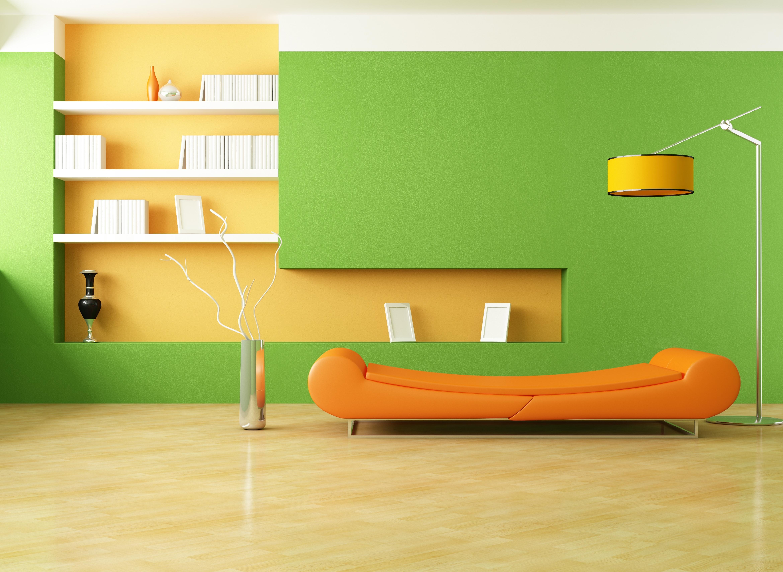 Hintergrundbilder : Minimalismus, Zimmer, Innere, Mauer, Grün, Gelb ...