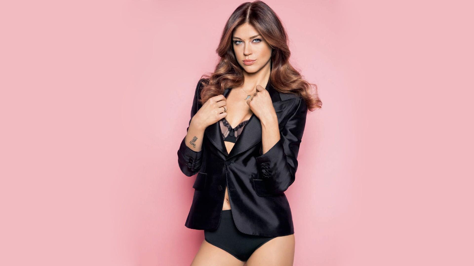 wallpaper model brunette actress adrianne palicki tattoo