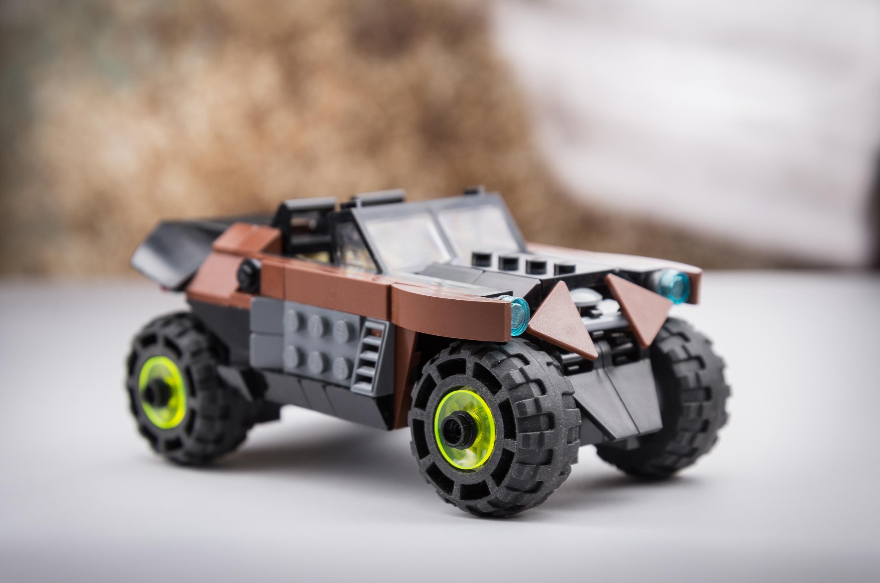 Masaustu Model Araba Arac Tugla Yol Lego Cizgiler Oyuncak