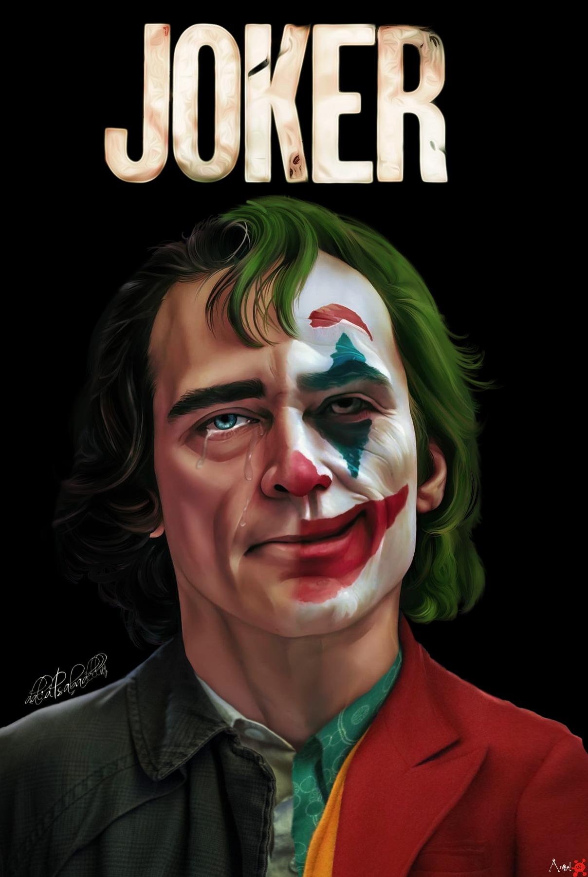 Wallpaper Model Digital Art Digital Painting Joker 2019
