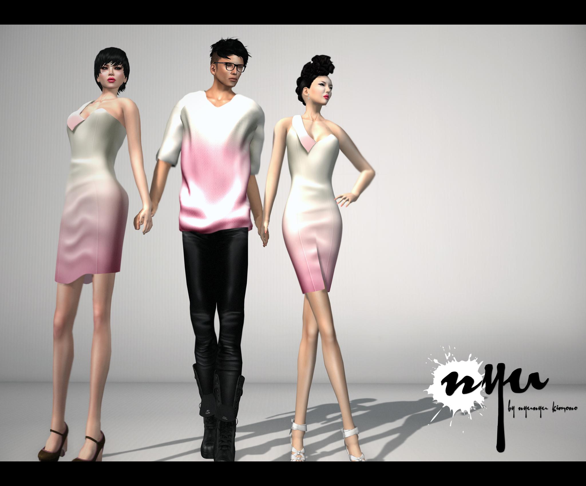 Wallpaper : Nyu, pink, kimono, supermodel, joint, girl, secondlife ...